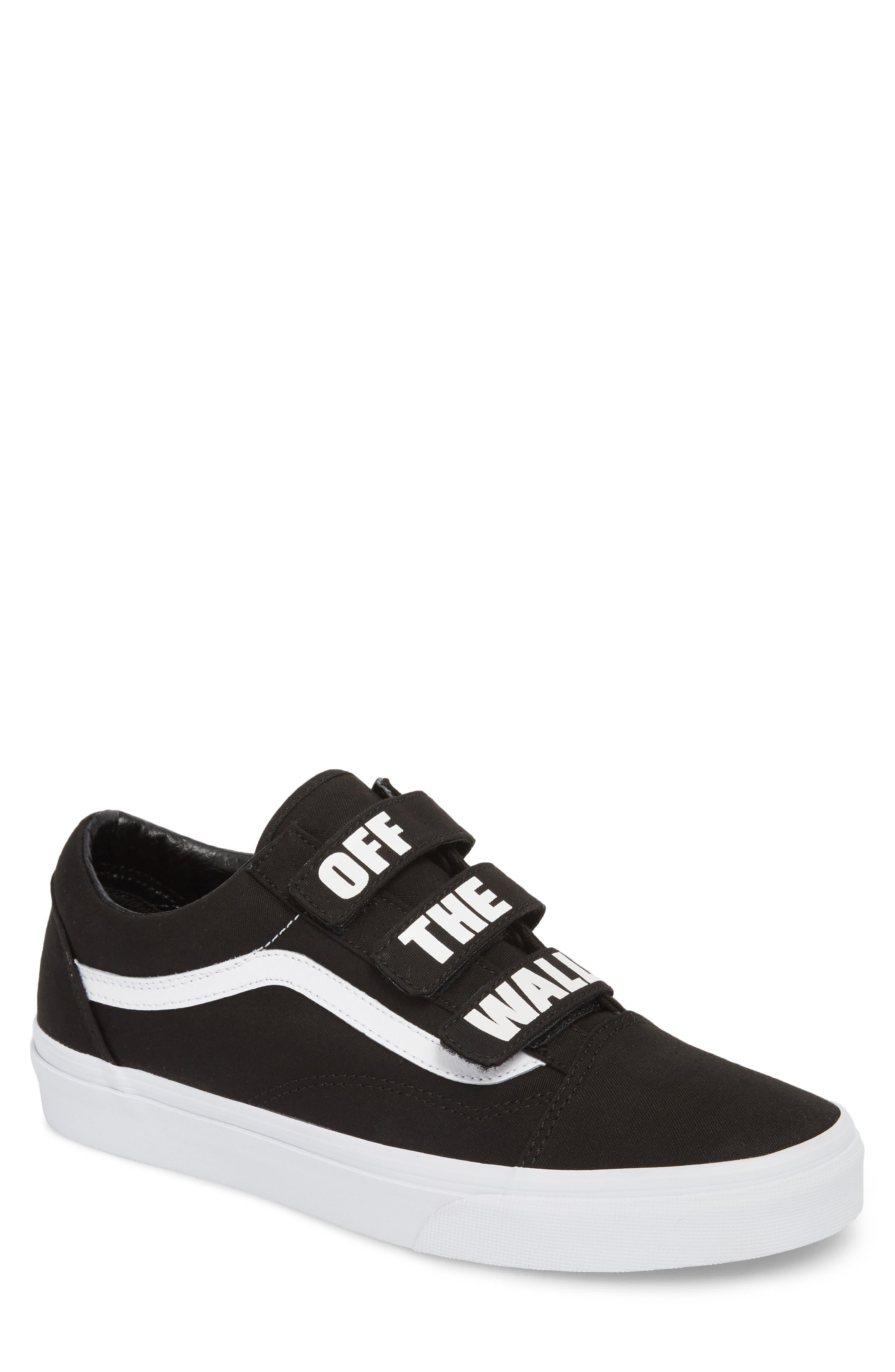 Off the Wall Old Skool V Sneaker,                             Main thumbnail 1, color,                             Black/ True White