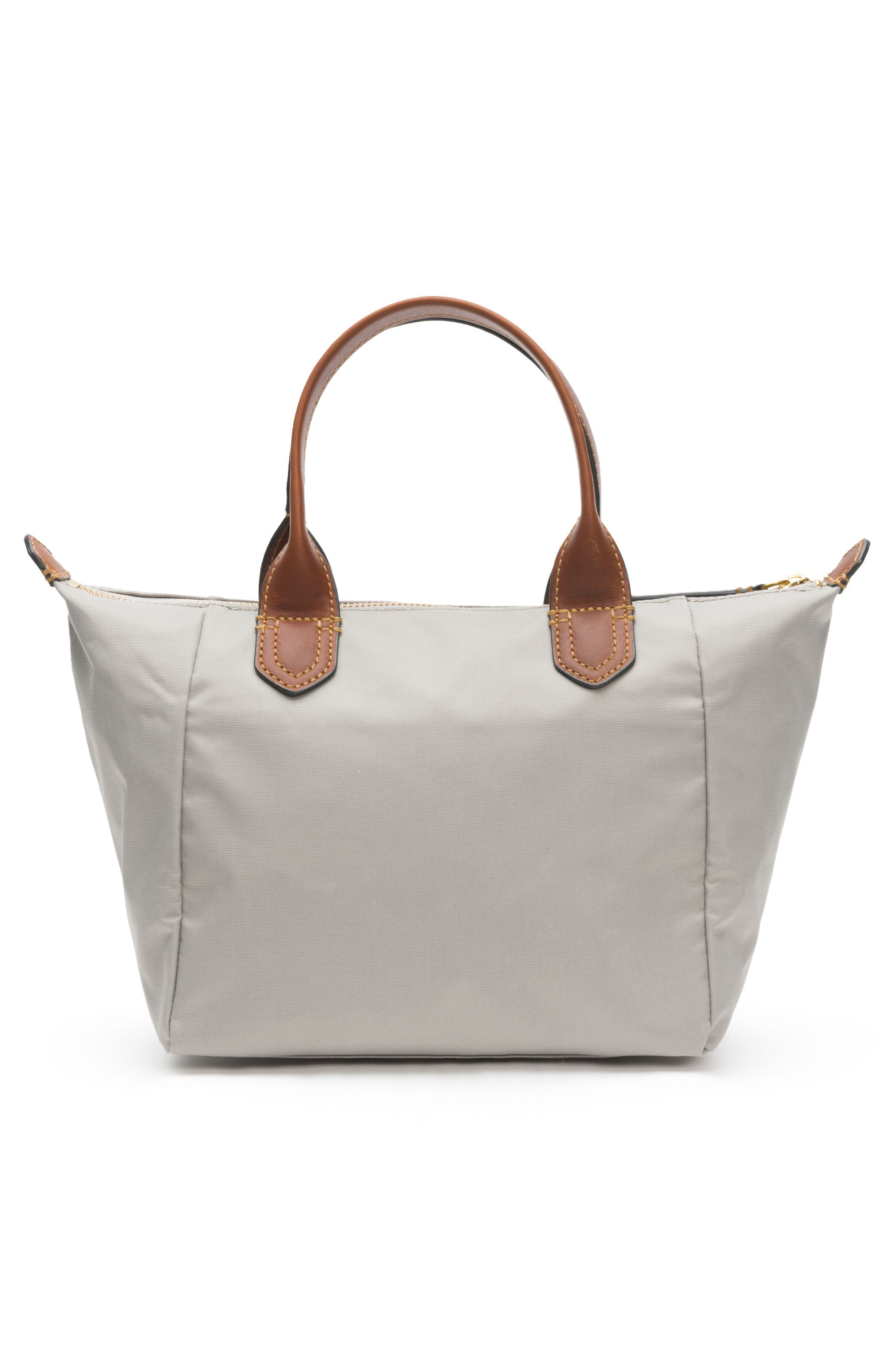 Small Ivy Nylon Tote,                             Alternate thumbnail 3, color,                             Light Grey