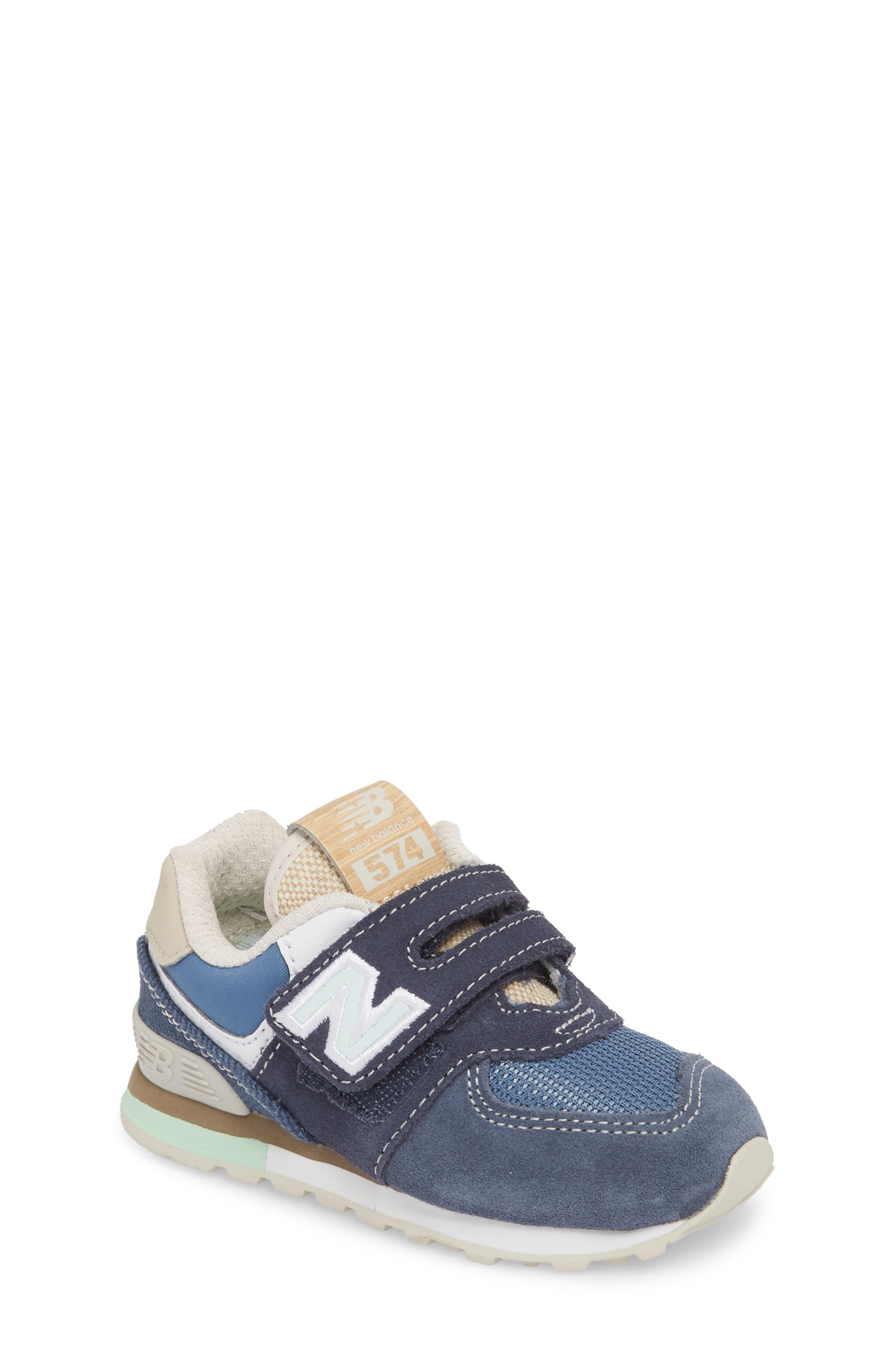 New Balance 574 Retro Surf Sneaker (Baby, Walker, Toddler, Little Kid & Big Kid)