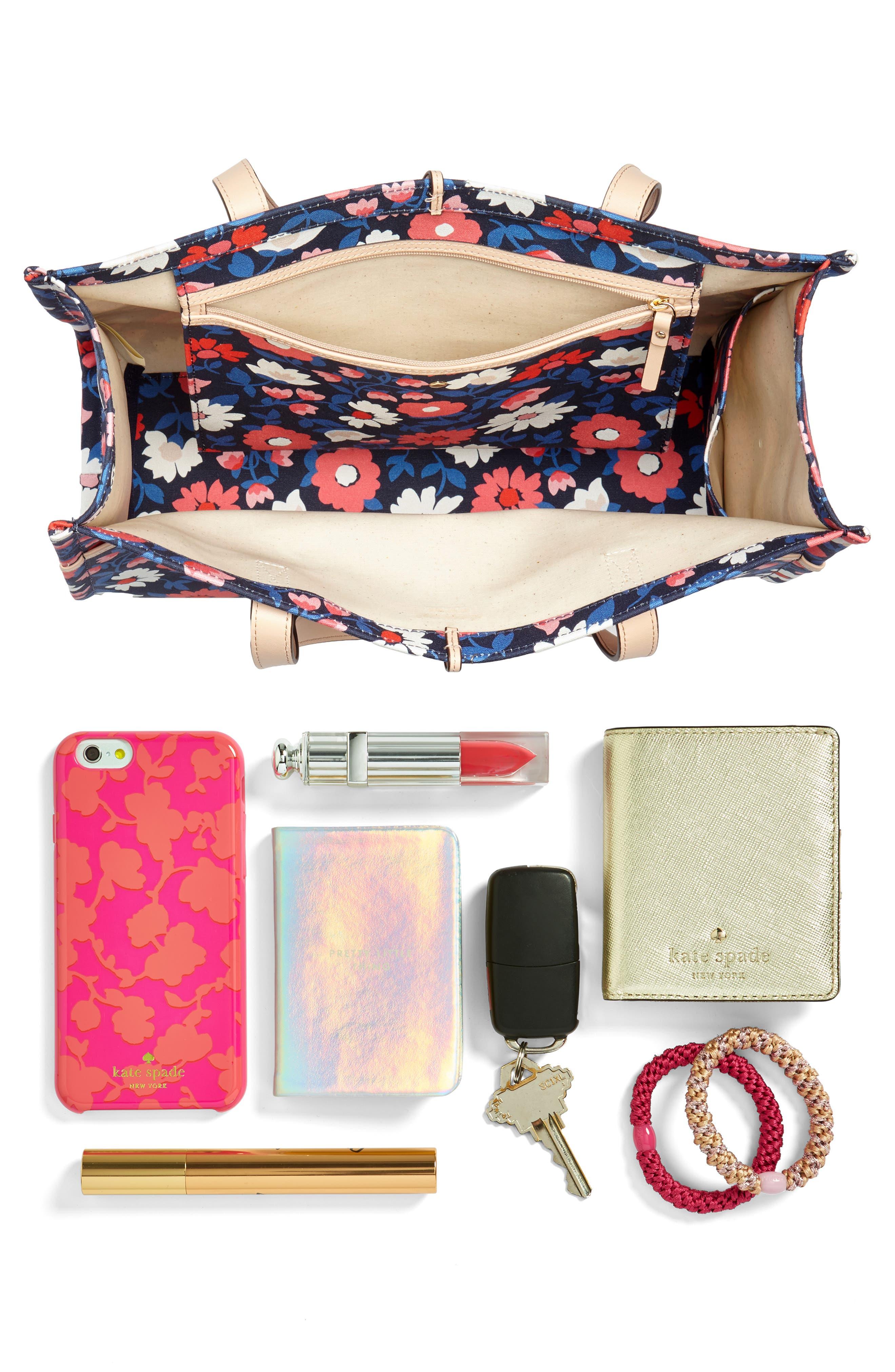 washington square - sam canvas handbag,                             Alternate thumbnail 7, color,