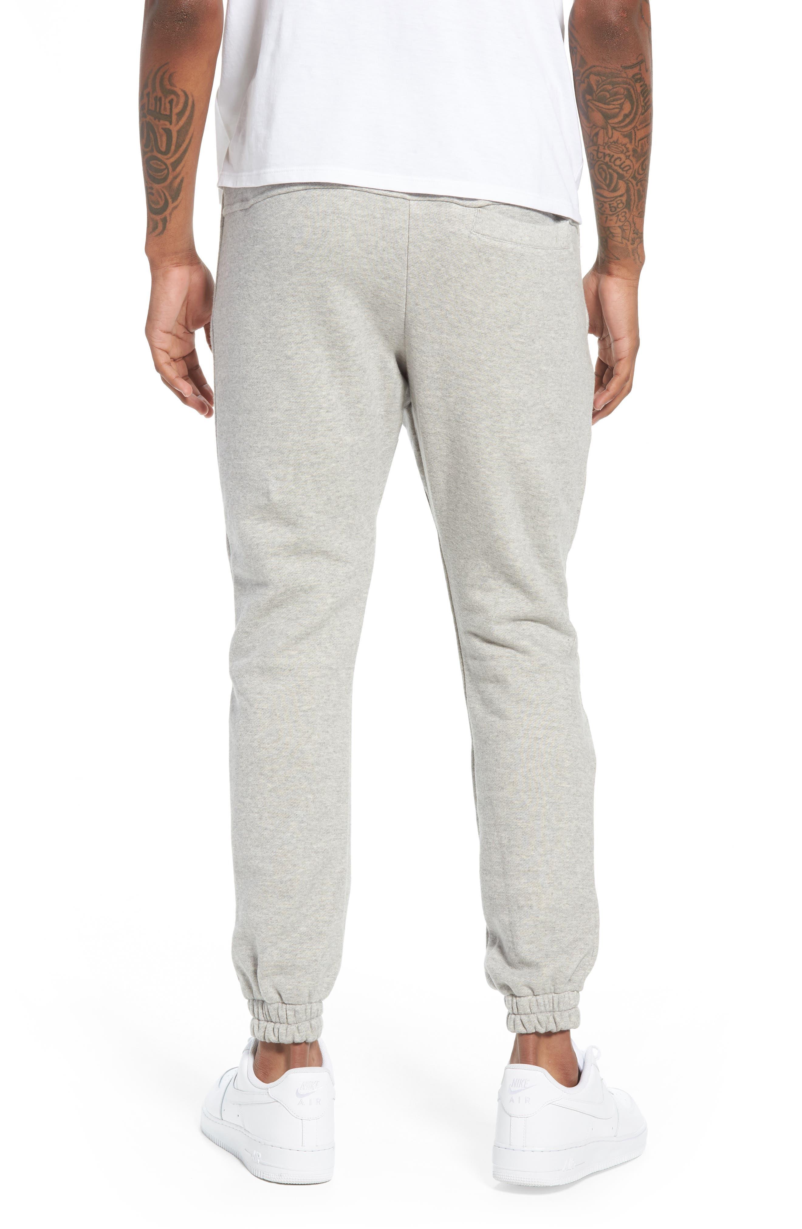 Plaid Jogger Pants,                             Alternate thumbnail 2, color,                             Grey