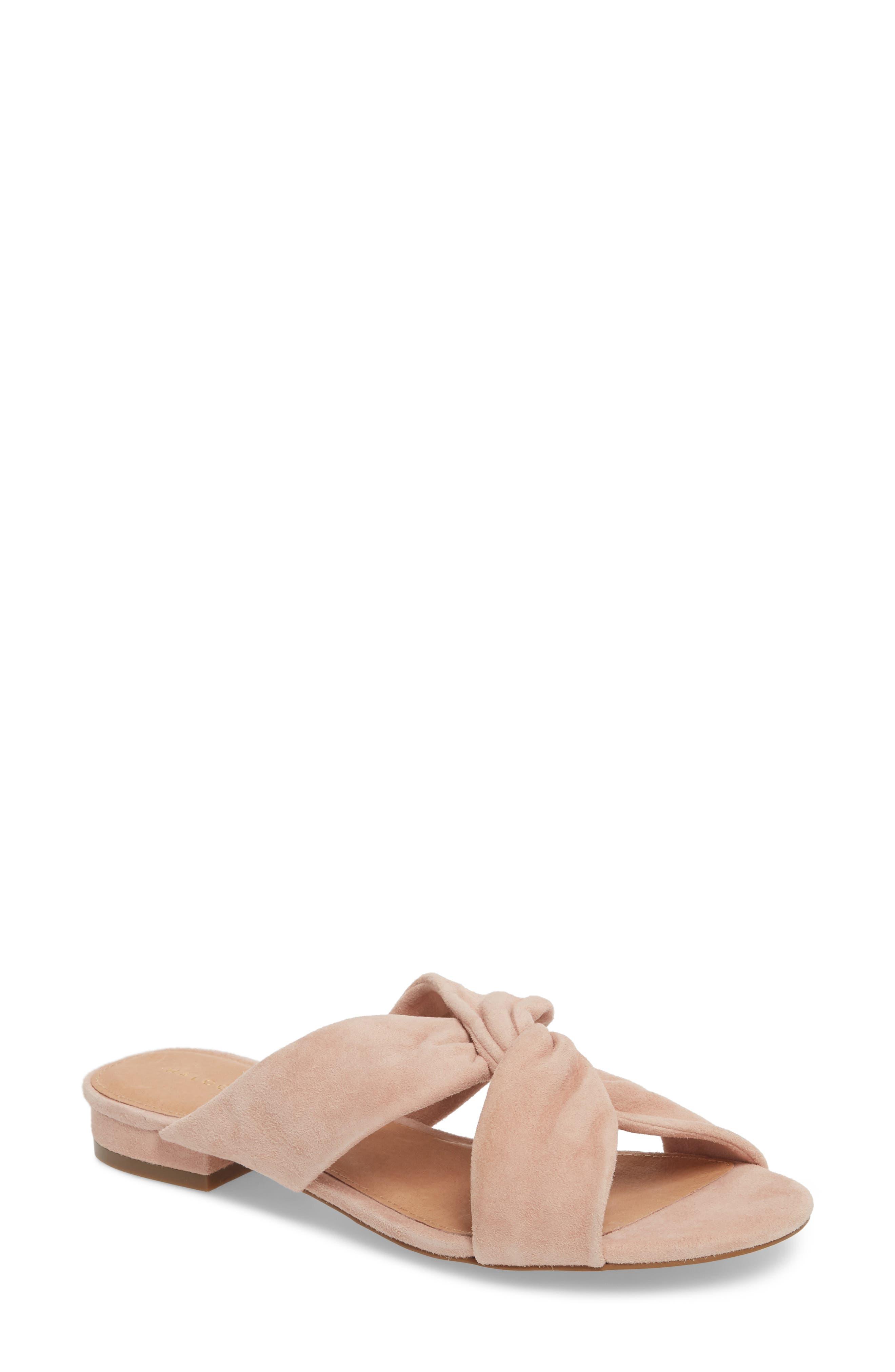 Halogen® Andre Slide Sandal (Women)