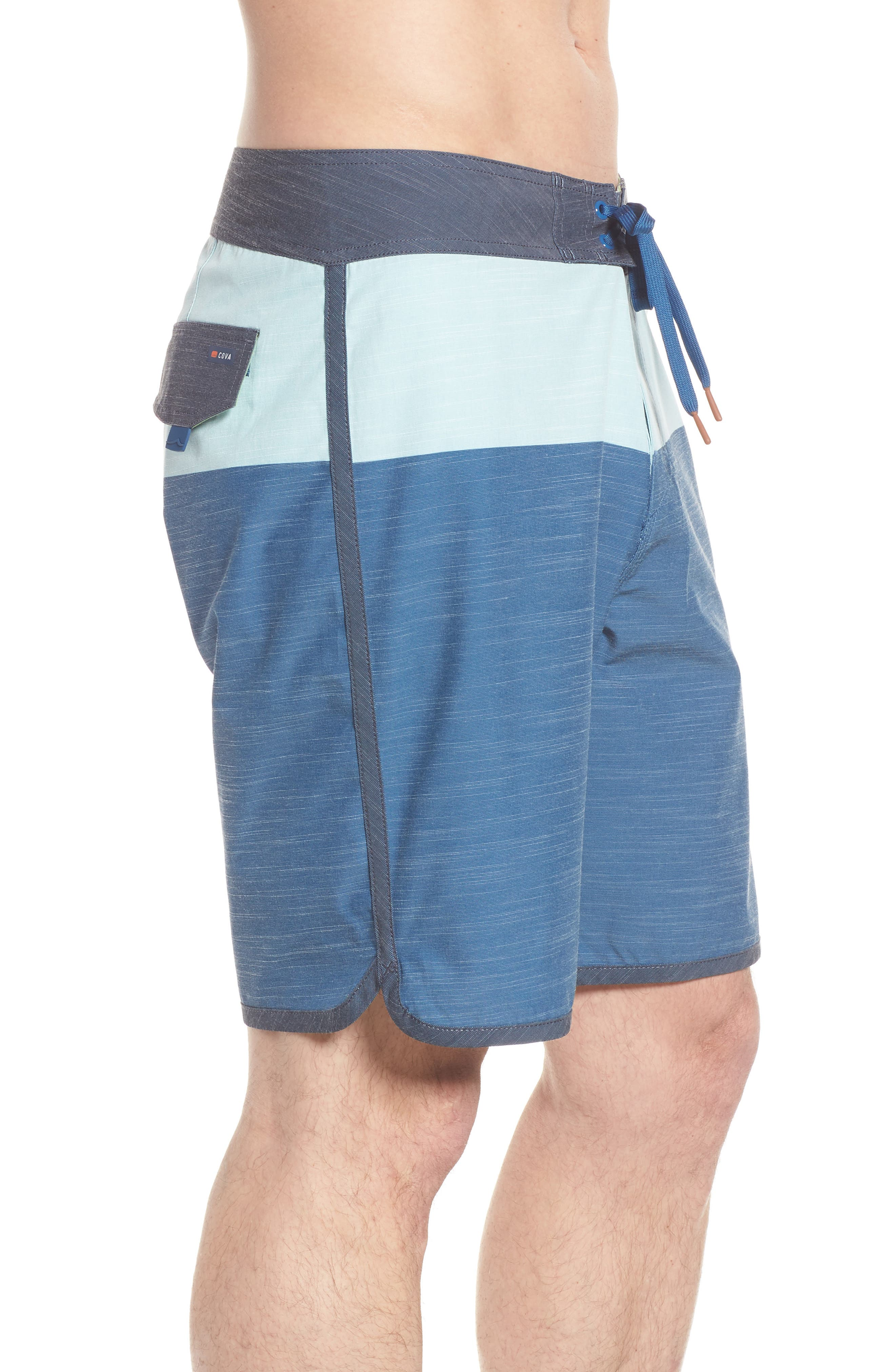 Beachcomber Board Shorts,                             Alternate thumbnail 4, color,                             Ocean Blue