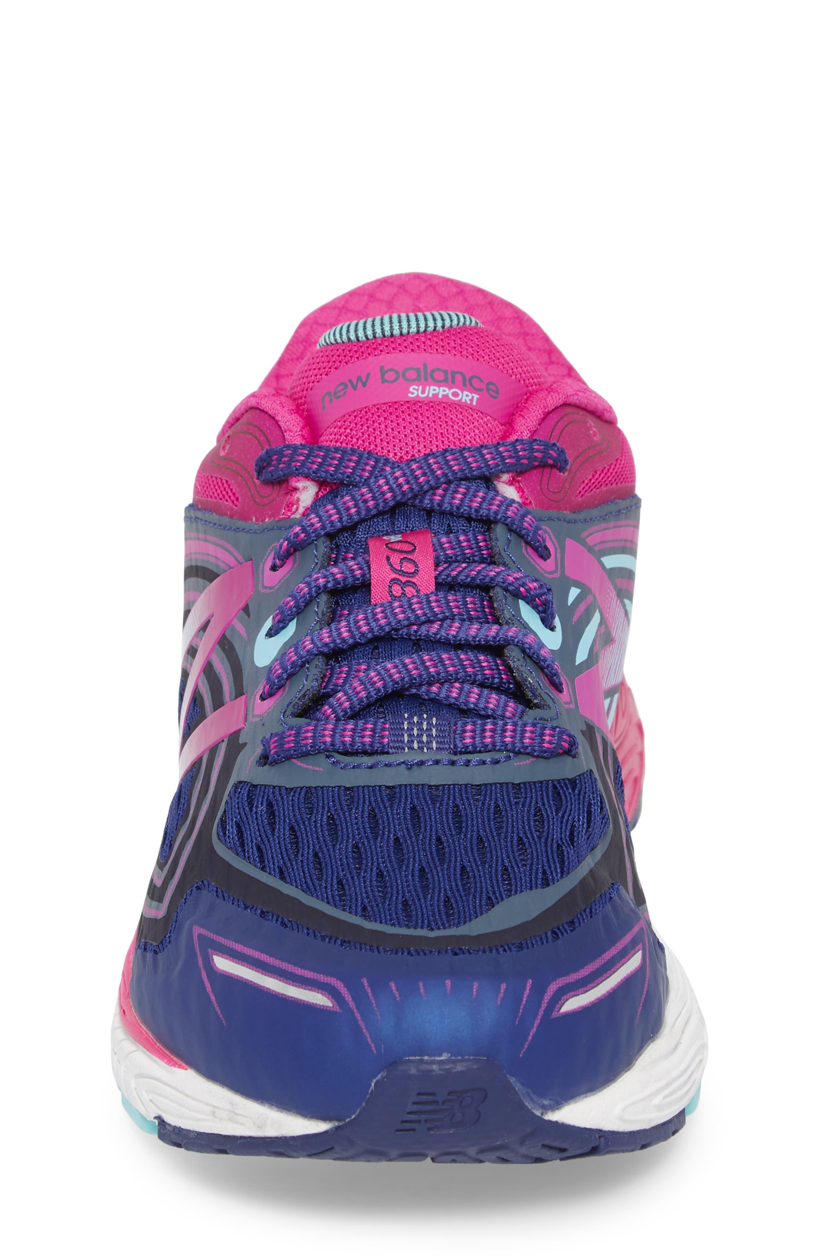 860v8 Sneaker,                             Alternate thumbnail 4, color,                             Navy