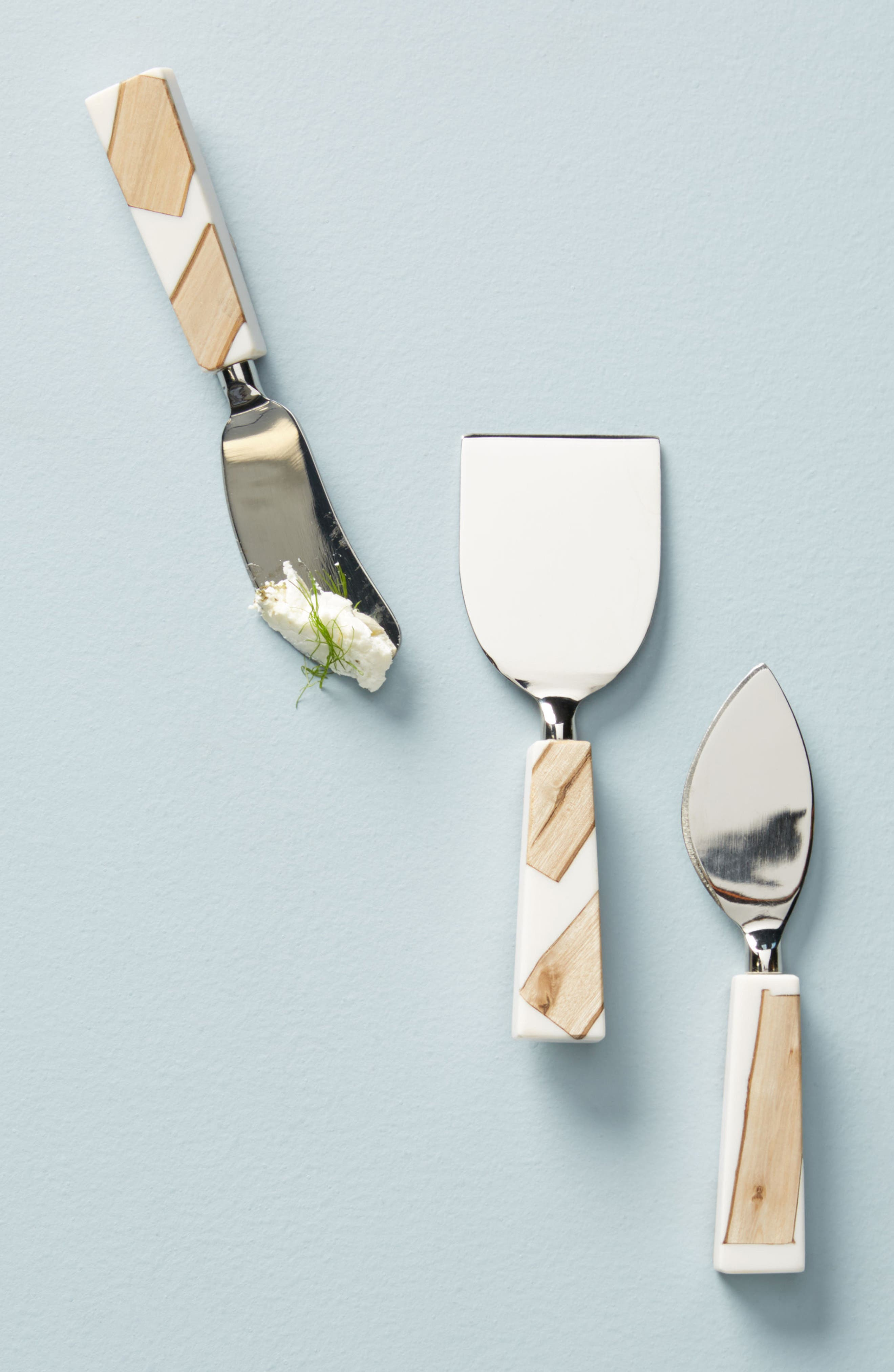 Main Image - Anthropologie Catbird Set of 3 Cheese Knives