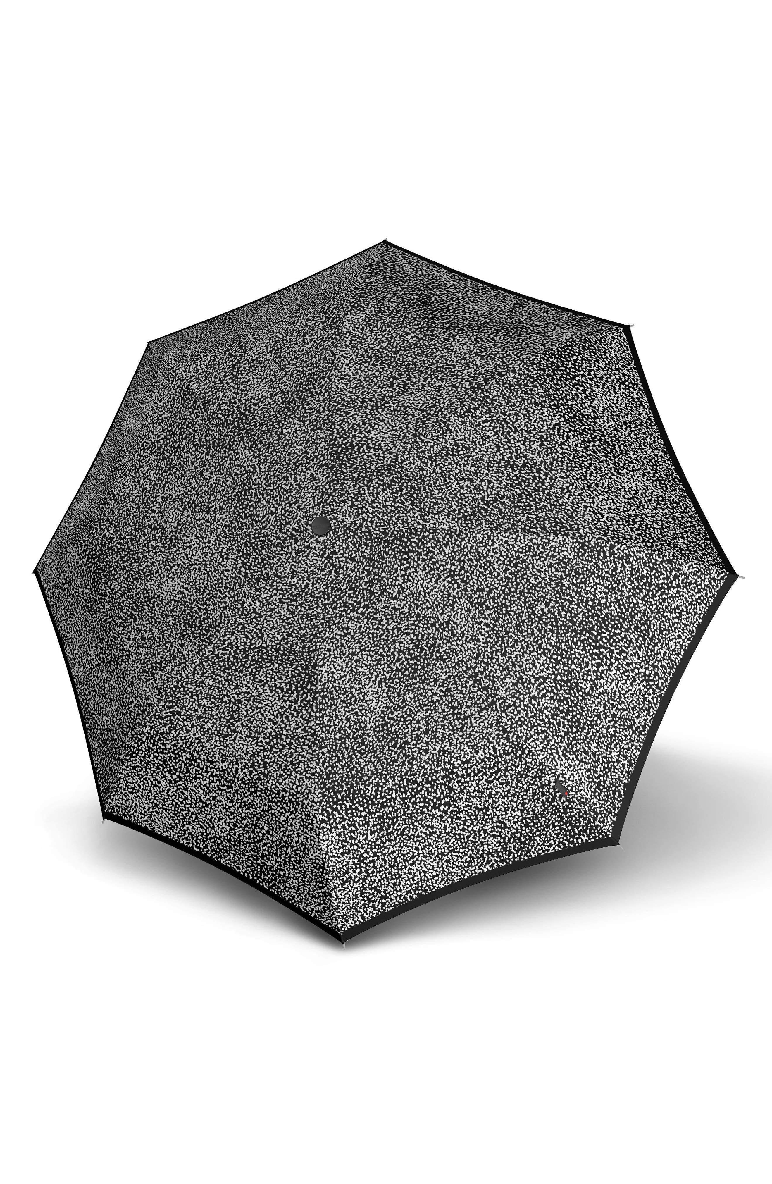 X1 Pod Manual Open/Close Umbrella,                             Alternate thumbnail 2, color,                             Nuno Black/White Snow