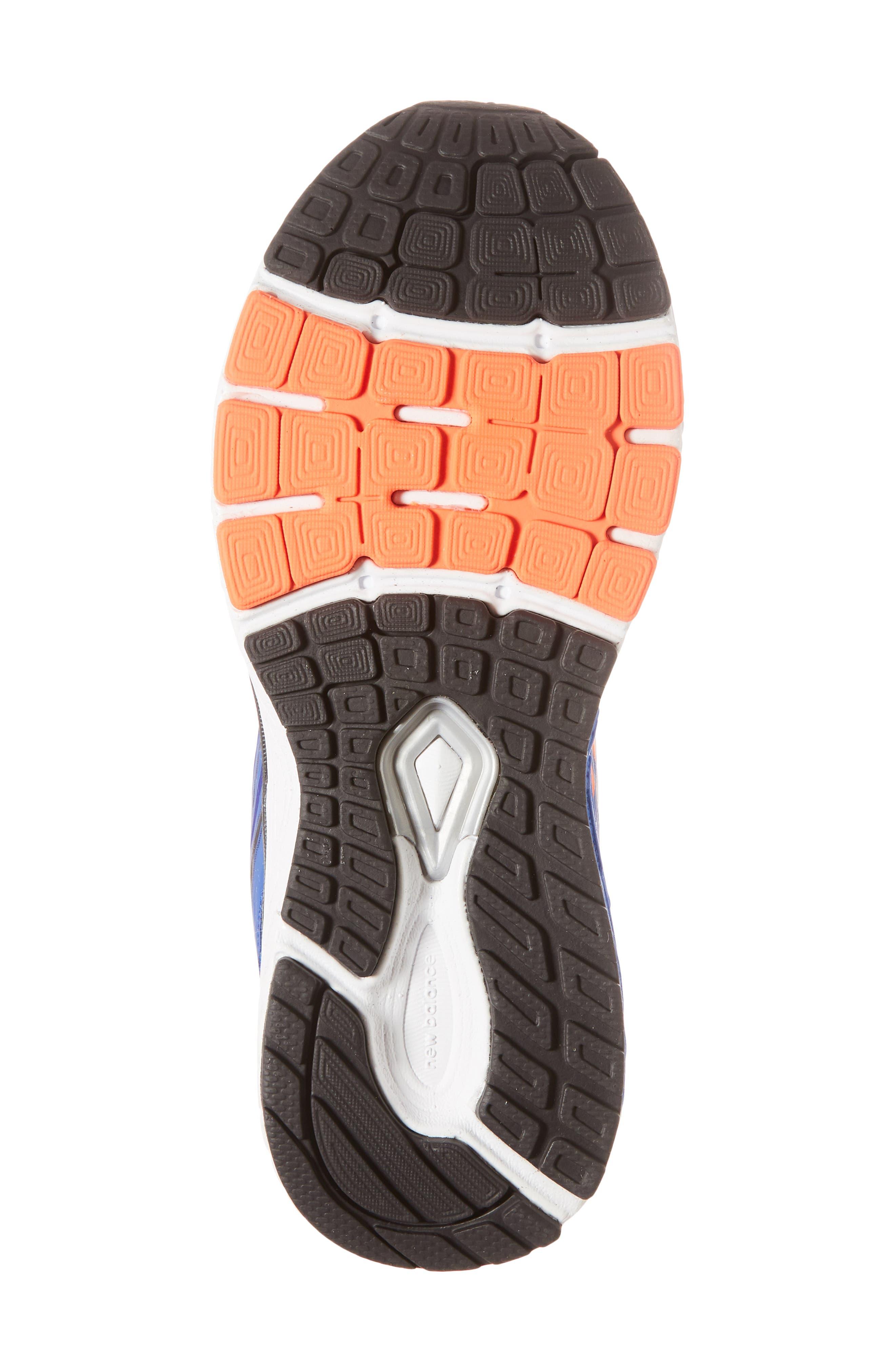 860v8 Sneaker,                             Alternate thumbnail 6, color,                             Navy/ Grey