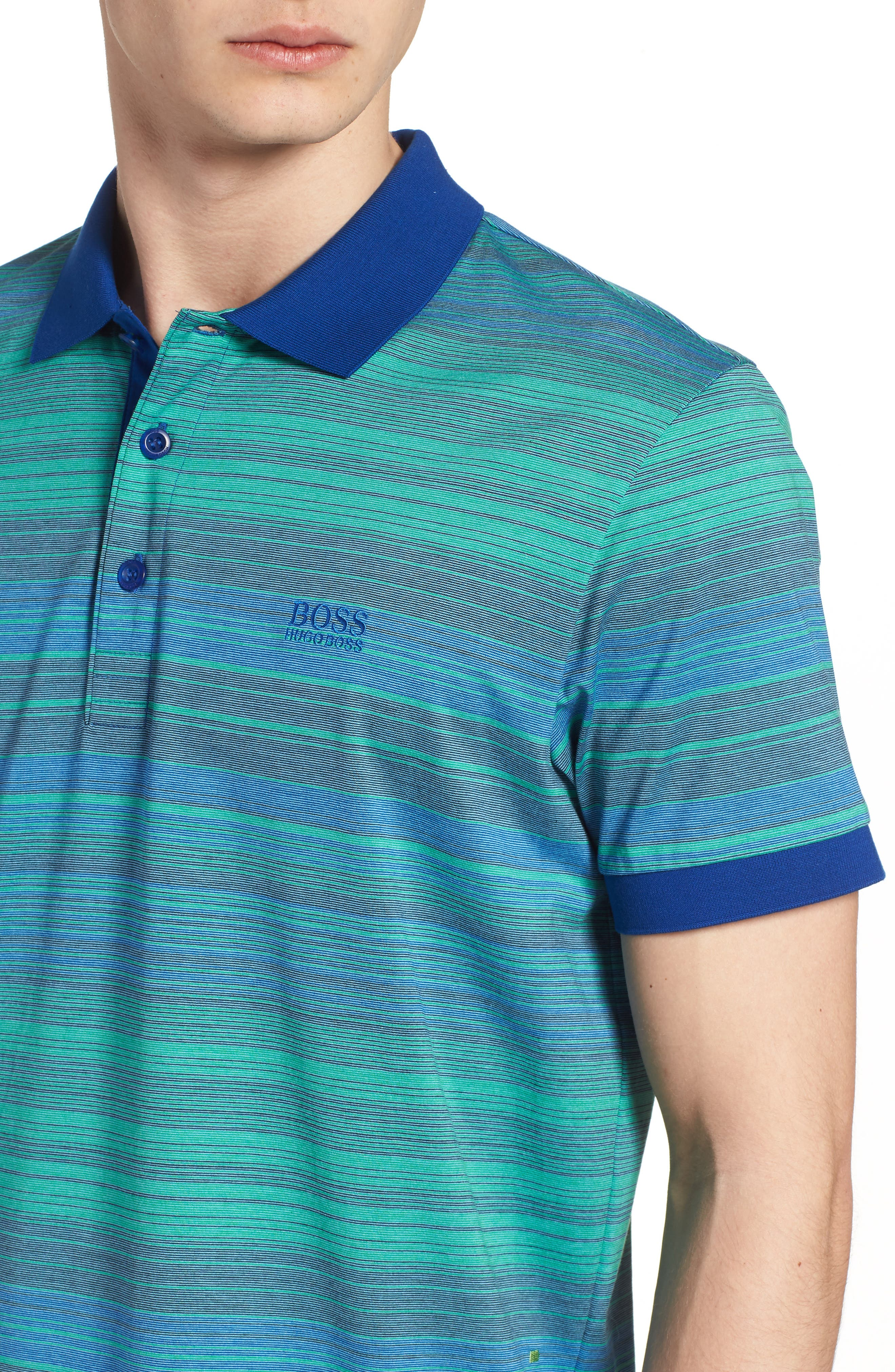 Paddy 3 Regular Fit Polo,                             Alternate thumbnail 4, color,                             Blue