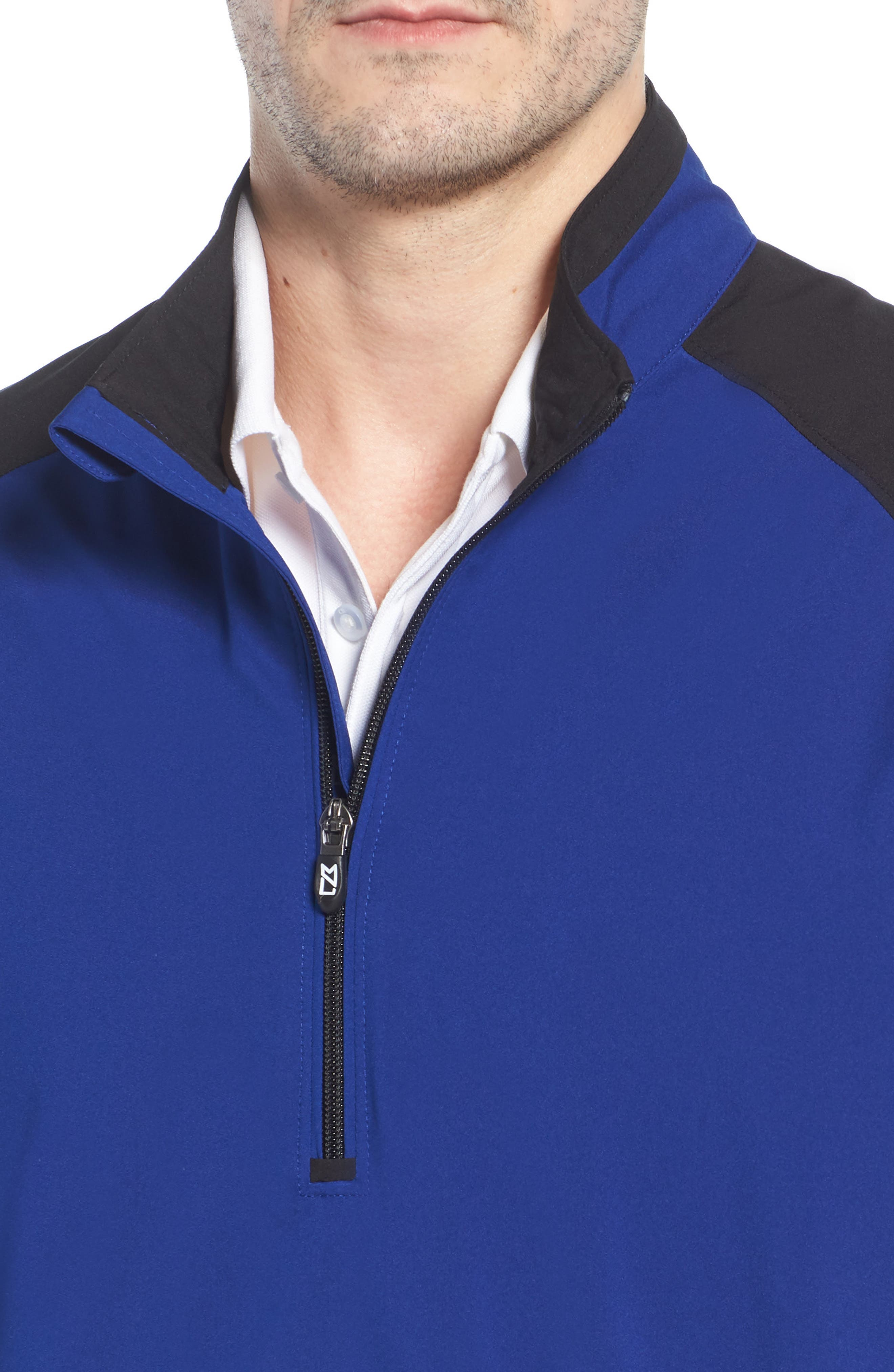 Alternate Image 4  - Cutter & Buck 'WeatherTec Summit' Short Sleeve Shirt