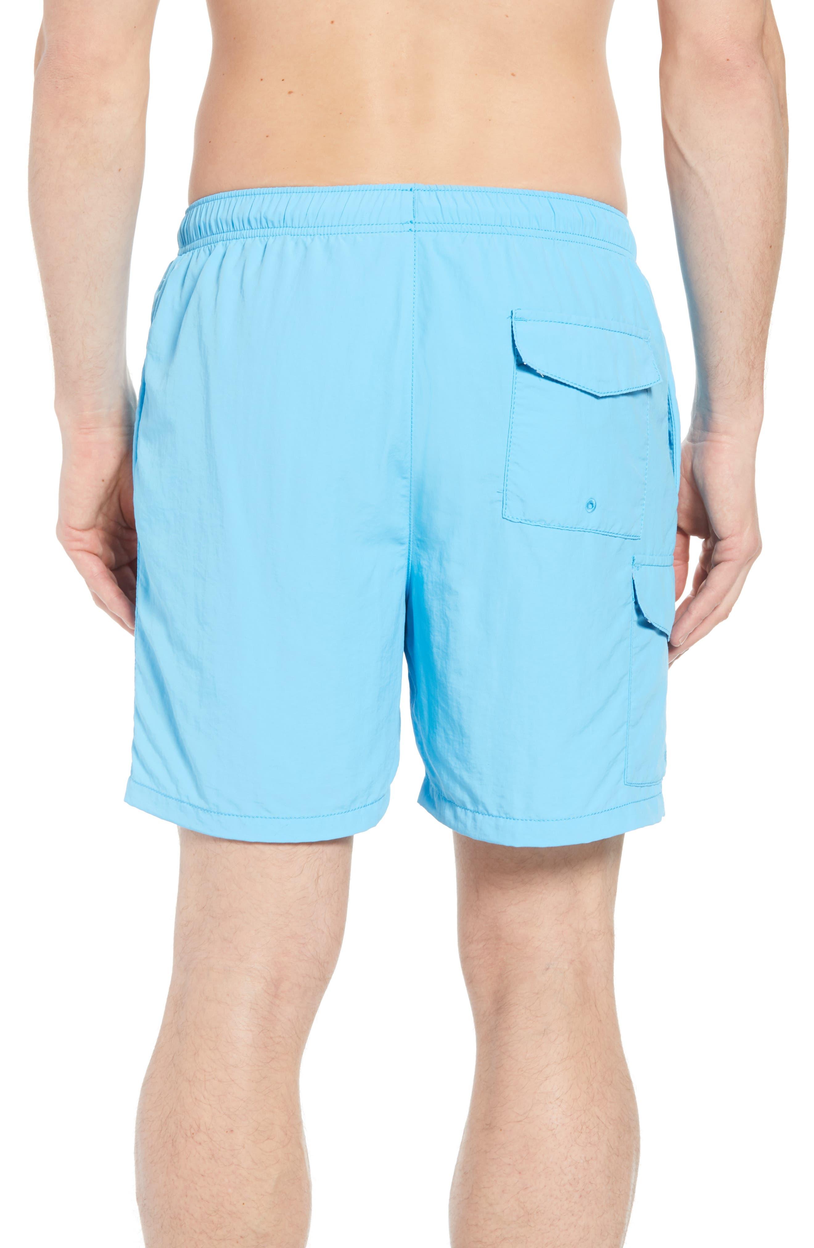 Naples Coast Swim Trunks,                             Alternate thumbnail 2, color,                             Breeze Blue