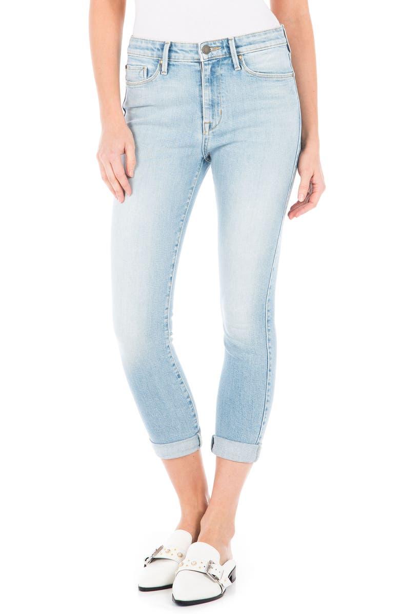 Gwen High Waist Crop Skinny Jeans