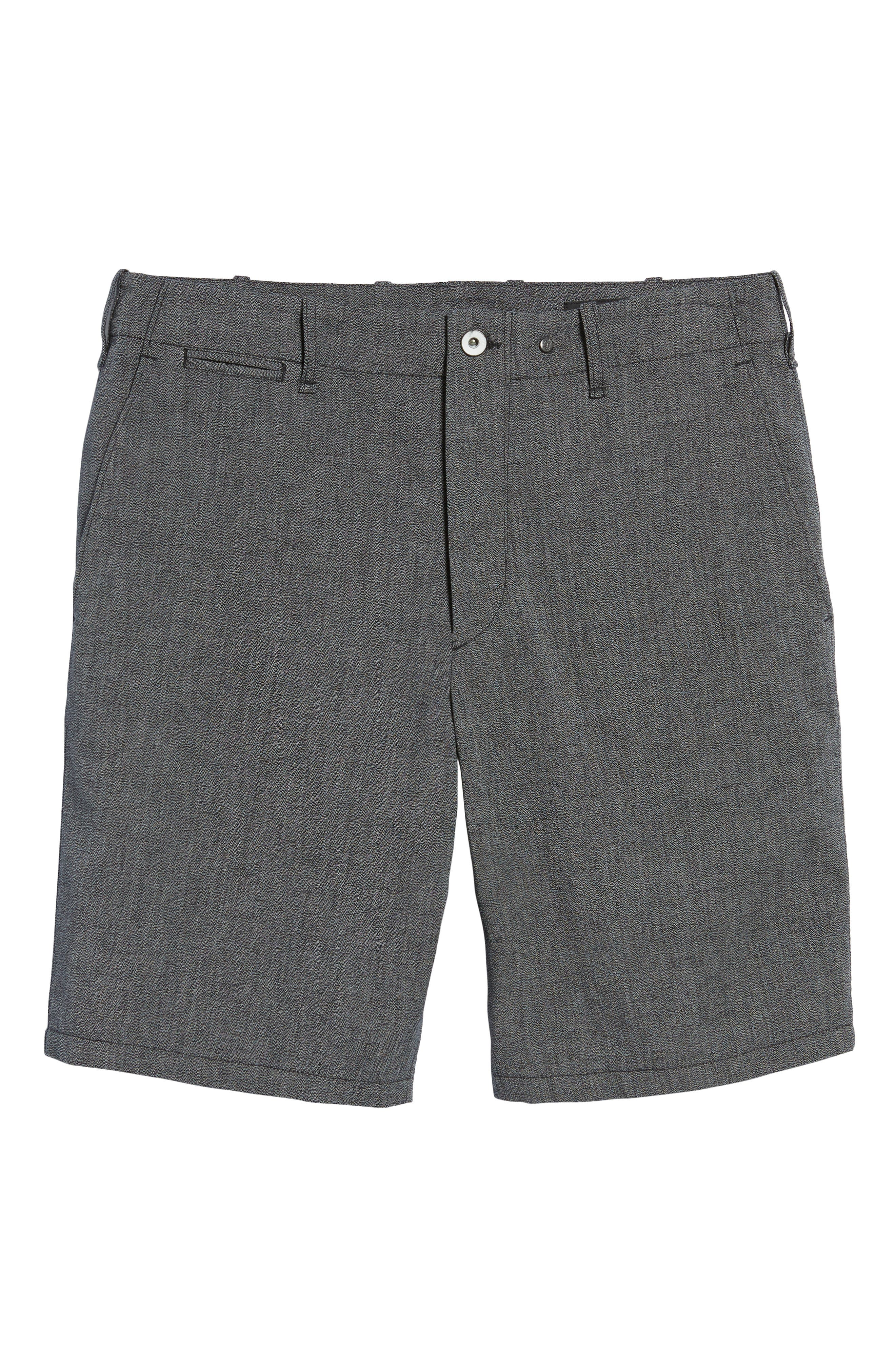 Base Classic Fit Shorts,                             Alternate thumbnail 6, color,                             Grey