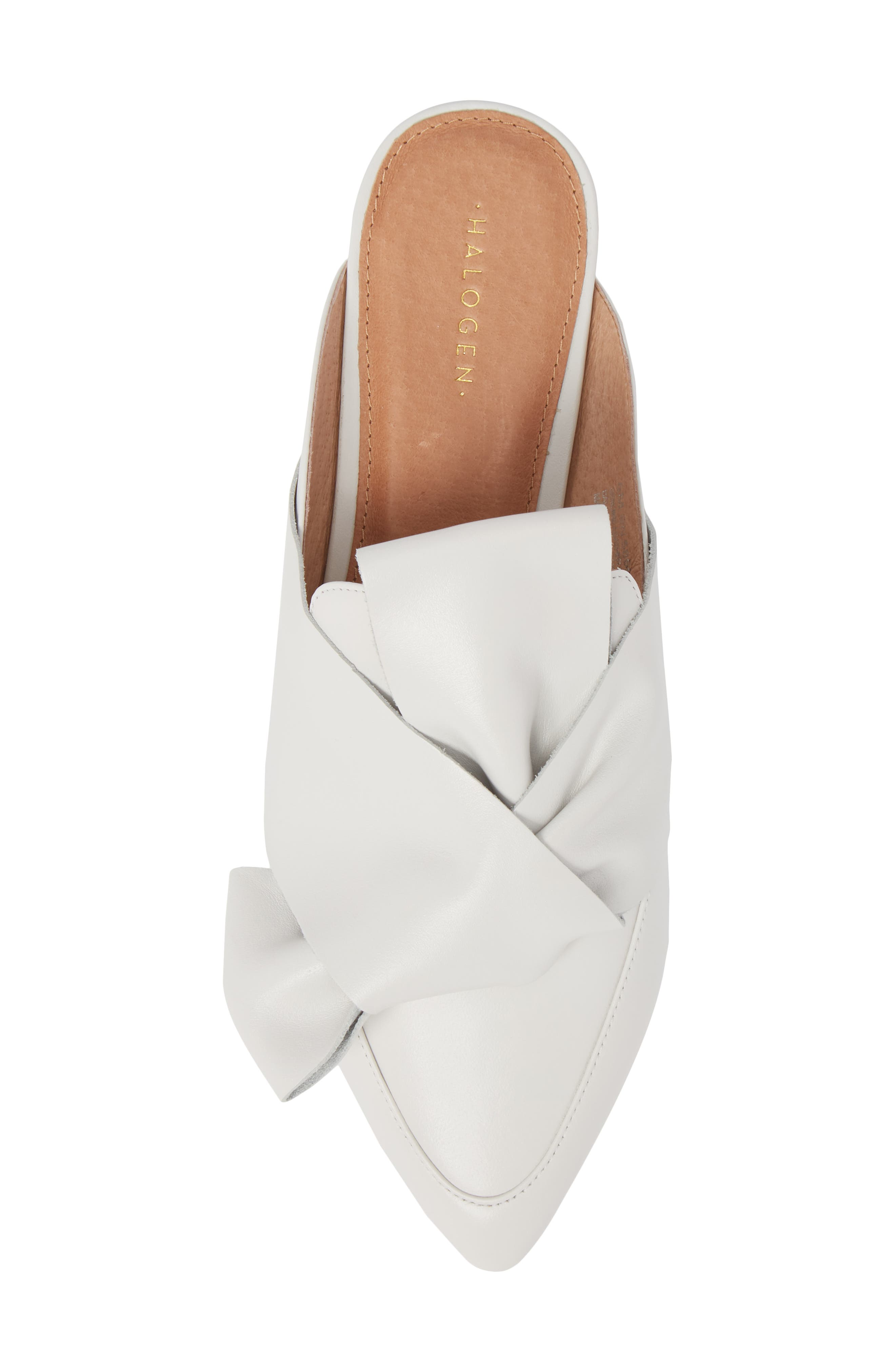 Coral Mule,                             Alternate thumbnail 5, color,                             White Leather