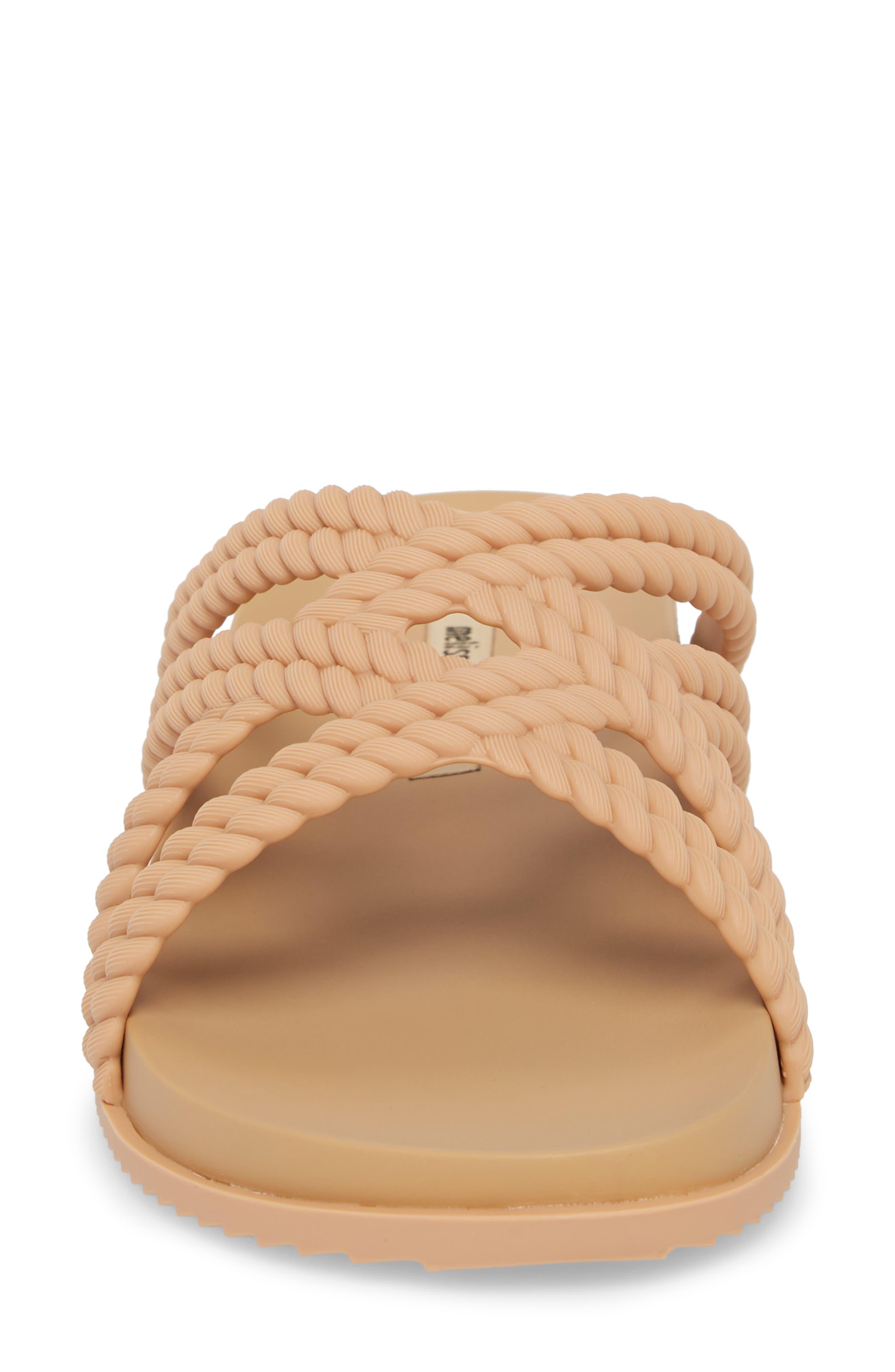 Cosmic Salinas Slide Sandal,                             Alternate thumbnail 4, color,                             Light Brown