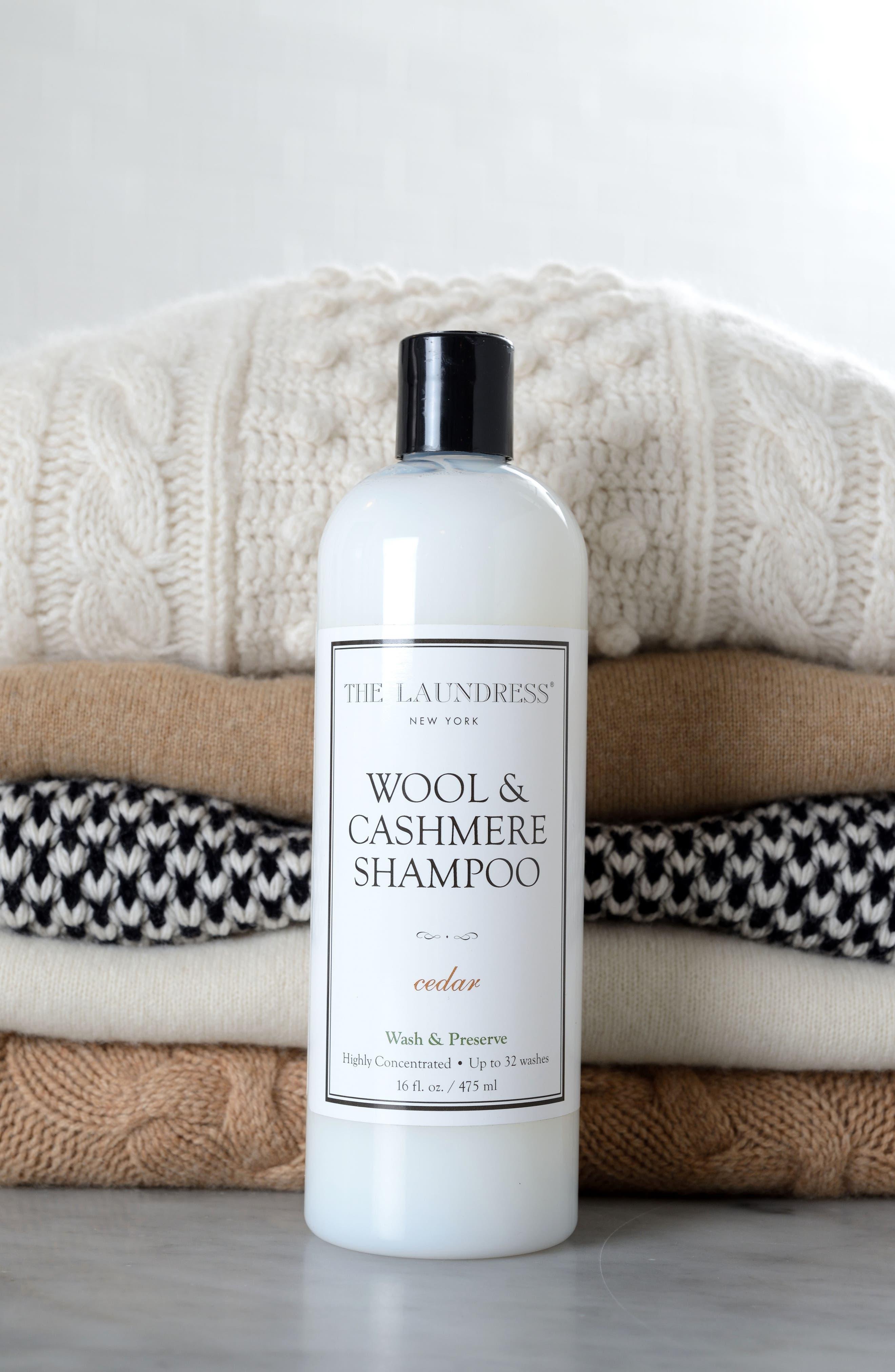 Wool & Cashmere Shampoo,                             Alternate thumbnail 2, color,