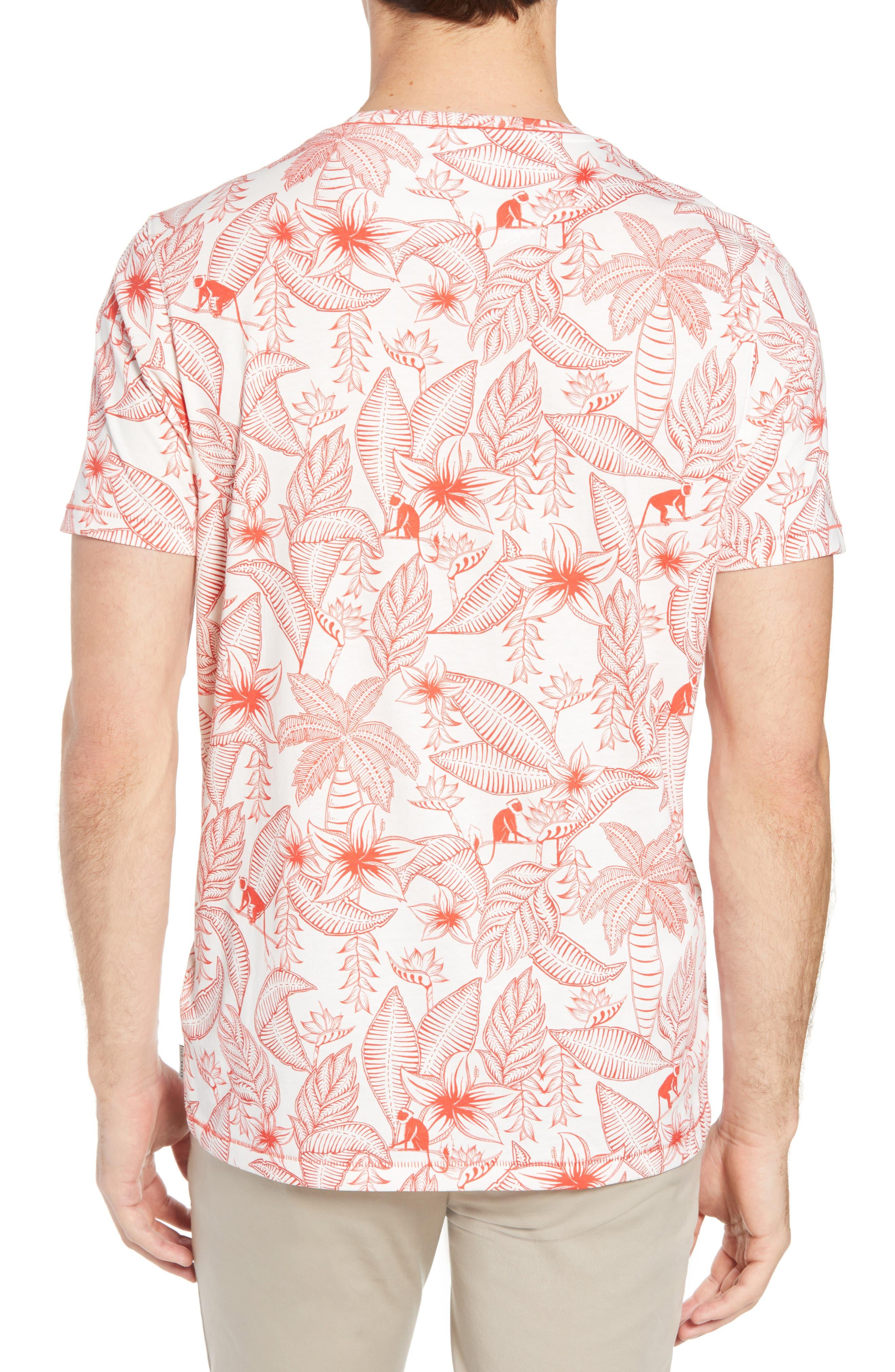 Bengel Crewneck T-Shirt,                             Alternate thumbnail 2, color,                             Red