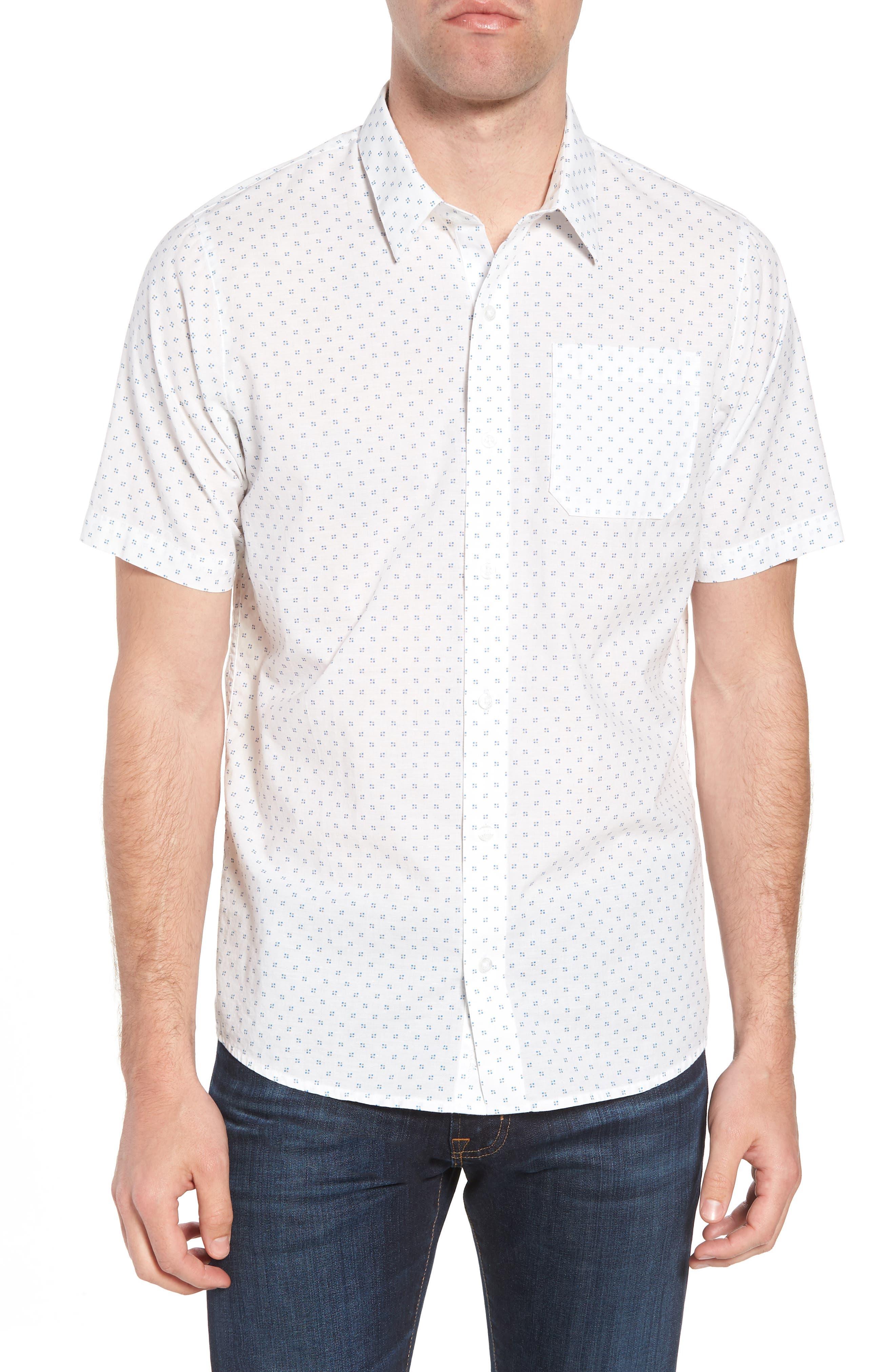 Nangs Print Sport Shirt,                             Main thumbnail 1, color,                             White