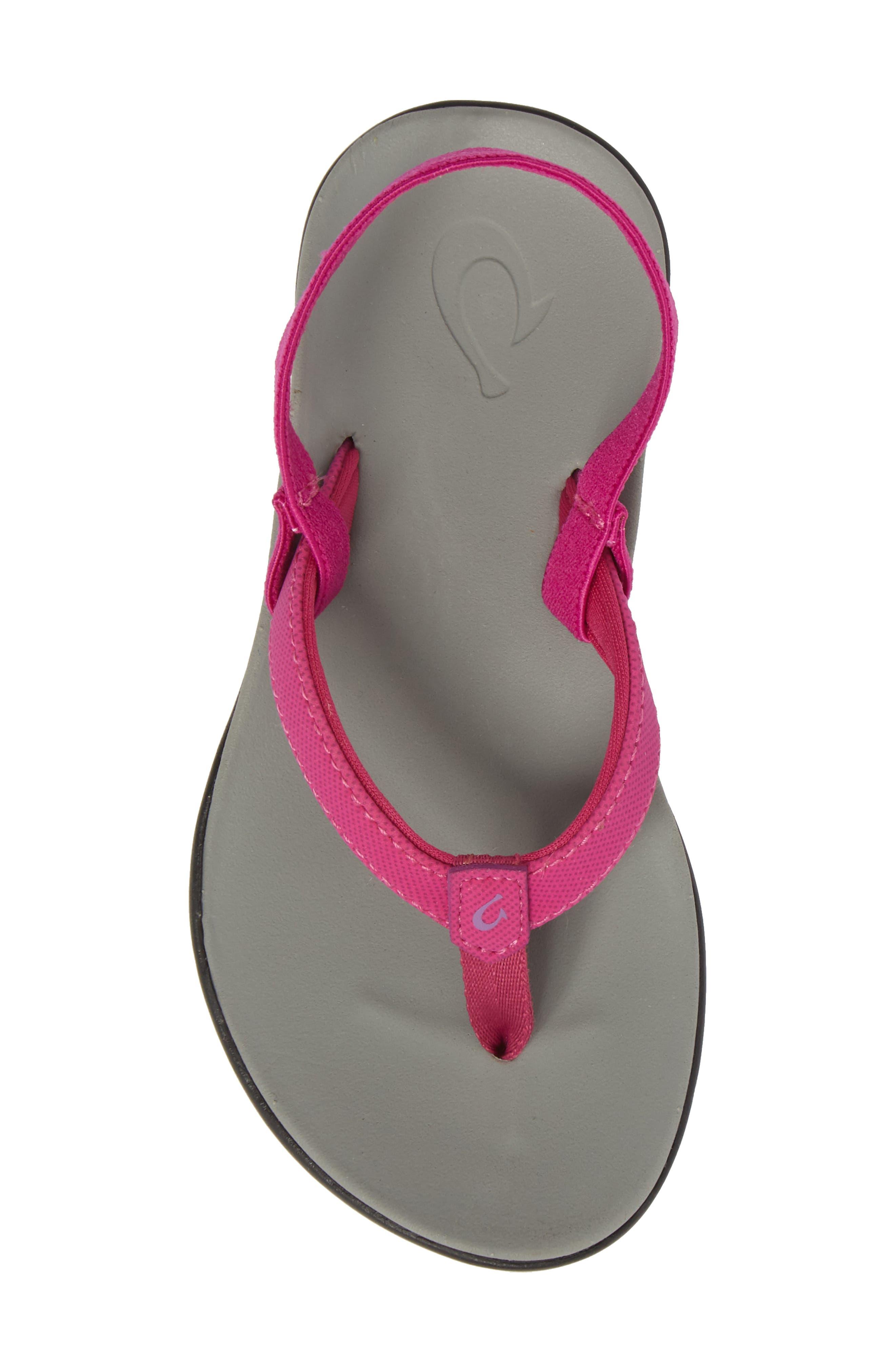 Ho'opio Sandal,                             Alternate thumbnail 5, color,                             Grape Juice/ Pale Grey