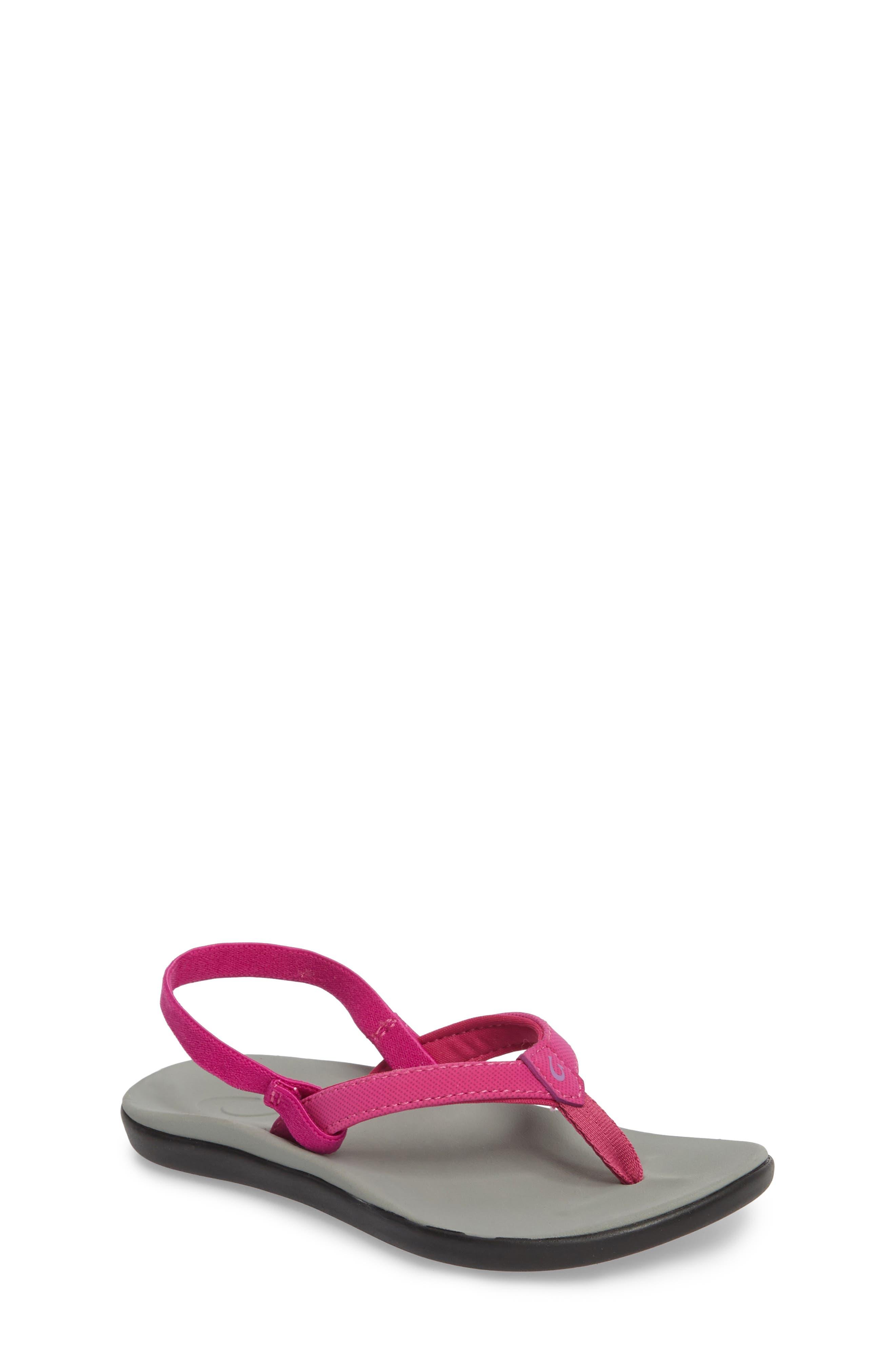 Ho'opio Sandal,                             Main thumbnail 1, color,                             Grape Juice/ Pale Grey