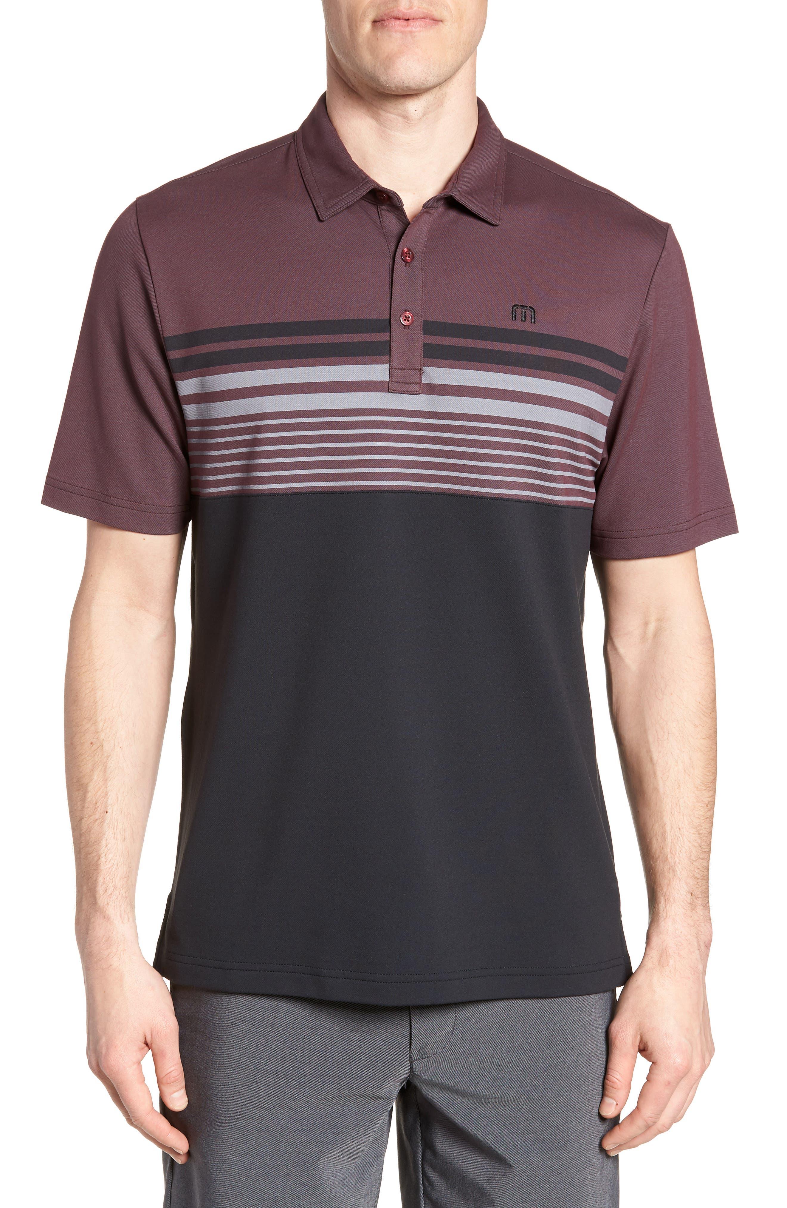 Boomer Polo Shirt,                         Main,                         color, Winetasting