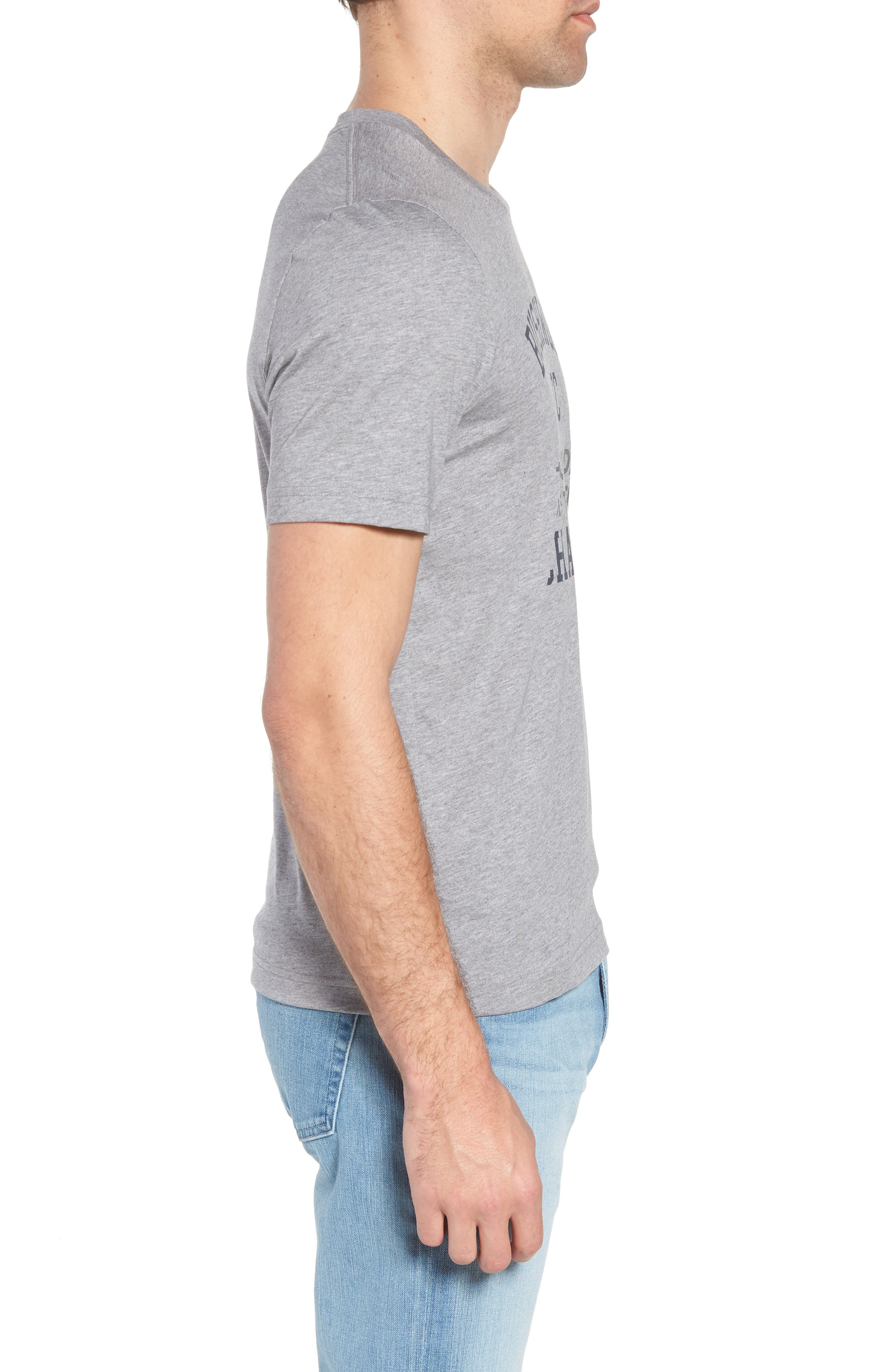 Caddy Day Graphic T-Shirt,                             Alternate thumbnail 3, color,                             Heather Grey