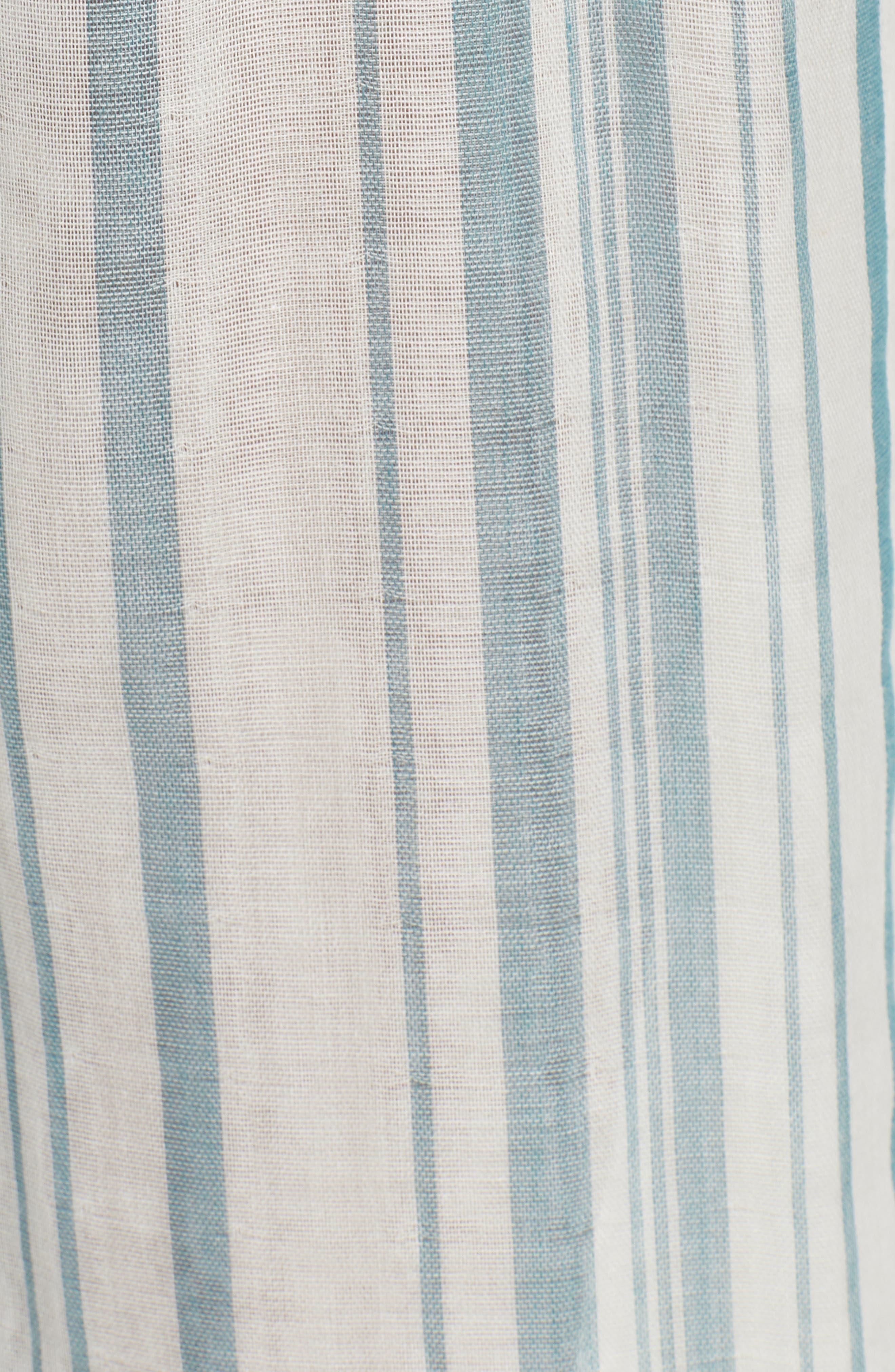 Peterson Wide Leg Pants,                             Alternate thumbnail 3, color,                             Point Dume Stripe