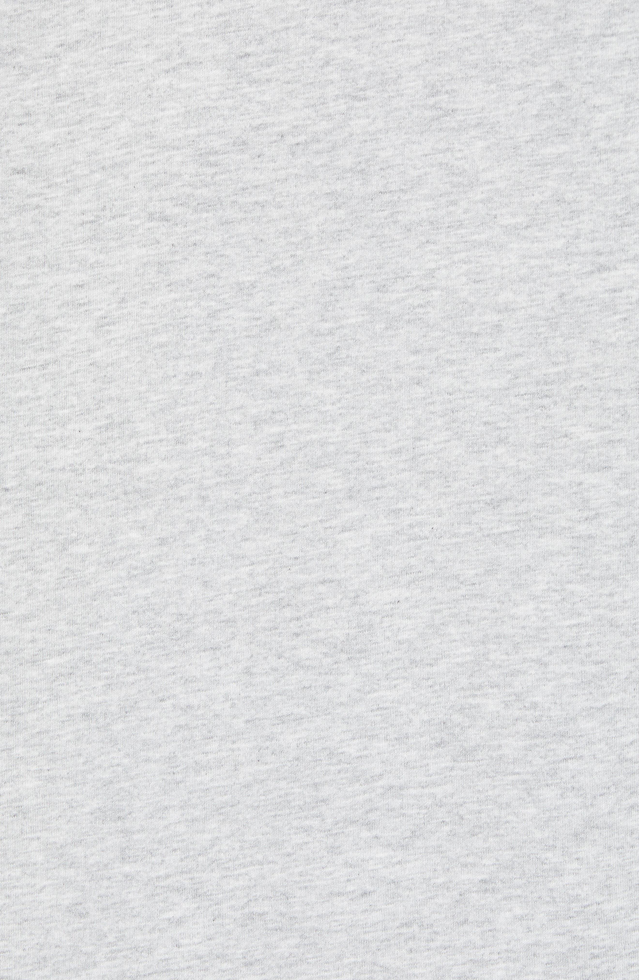 School of Tuna Regular Fit Pocket T-Shirt,                             Alternate thumbnail 5, color,                             Gray Heather