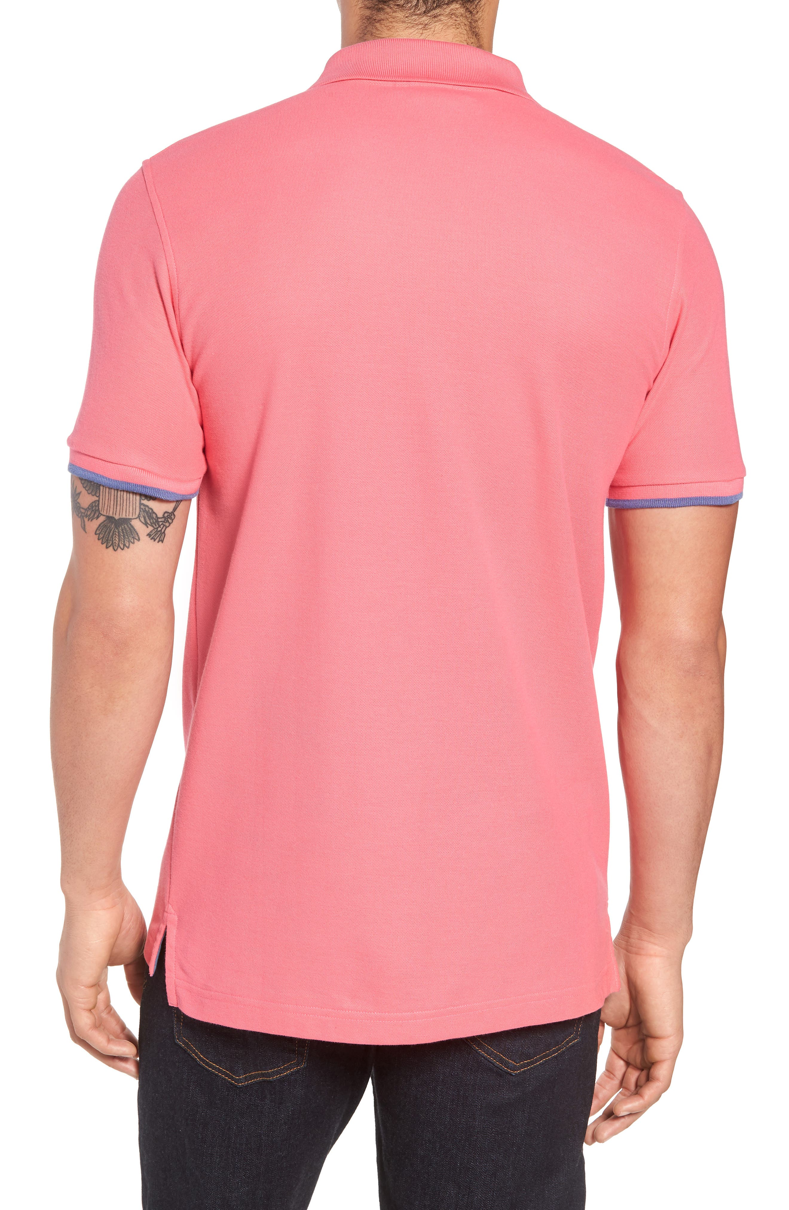 Sandford Polo,                             Alternate thumbnail 2, color,                             Hot Pink