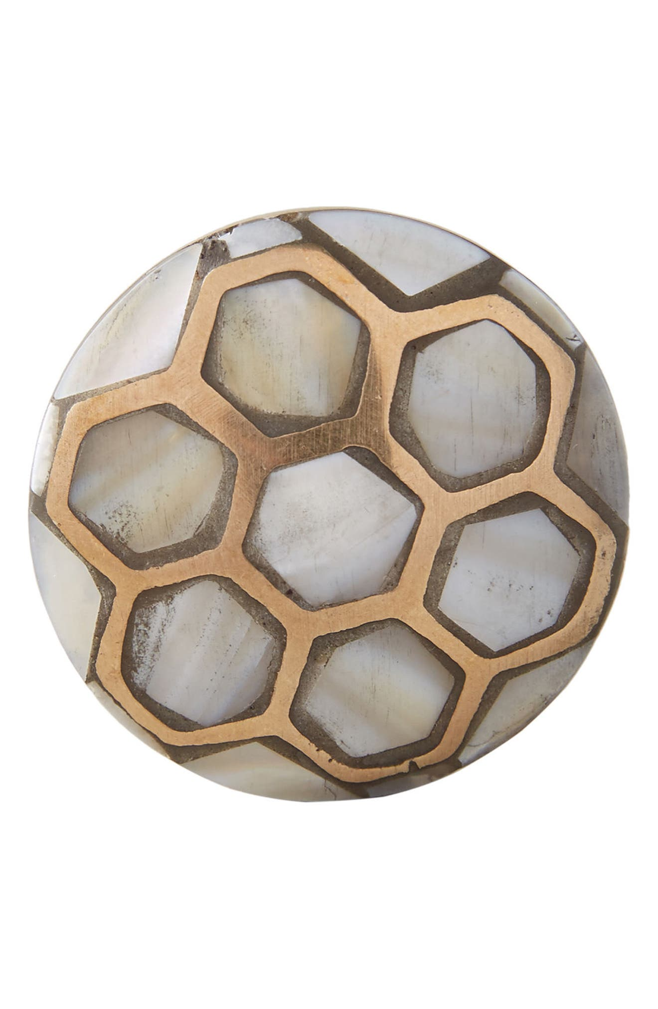 Alternate Image 3  - Anthropologie Serpentine Mother of Pearl Knob