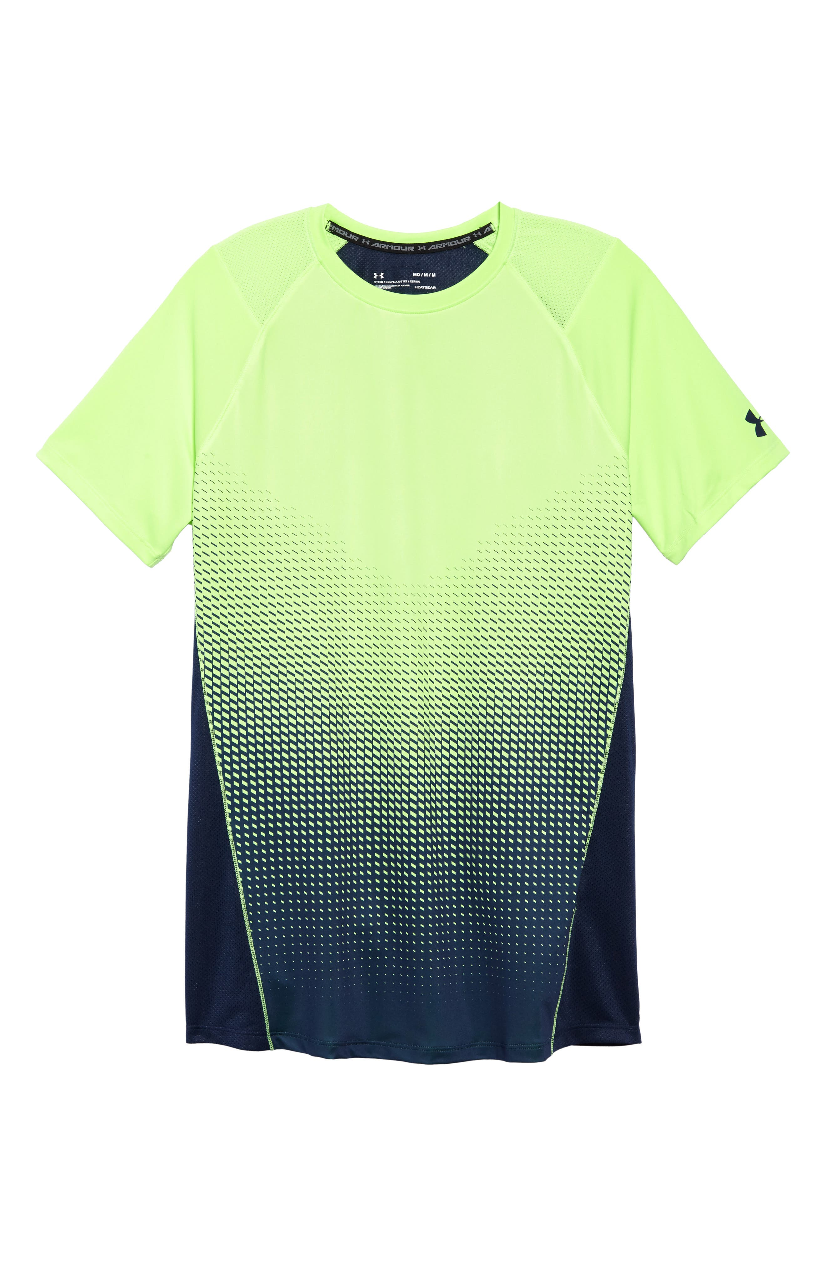 MK1 Dash Crewneck T-Shirt,                             Alternate thumbnail 6, color,                             Lime / Academy / Graphite