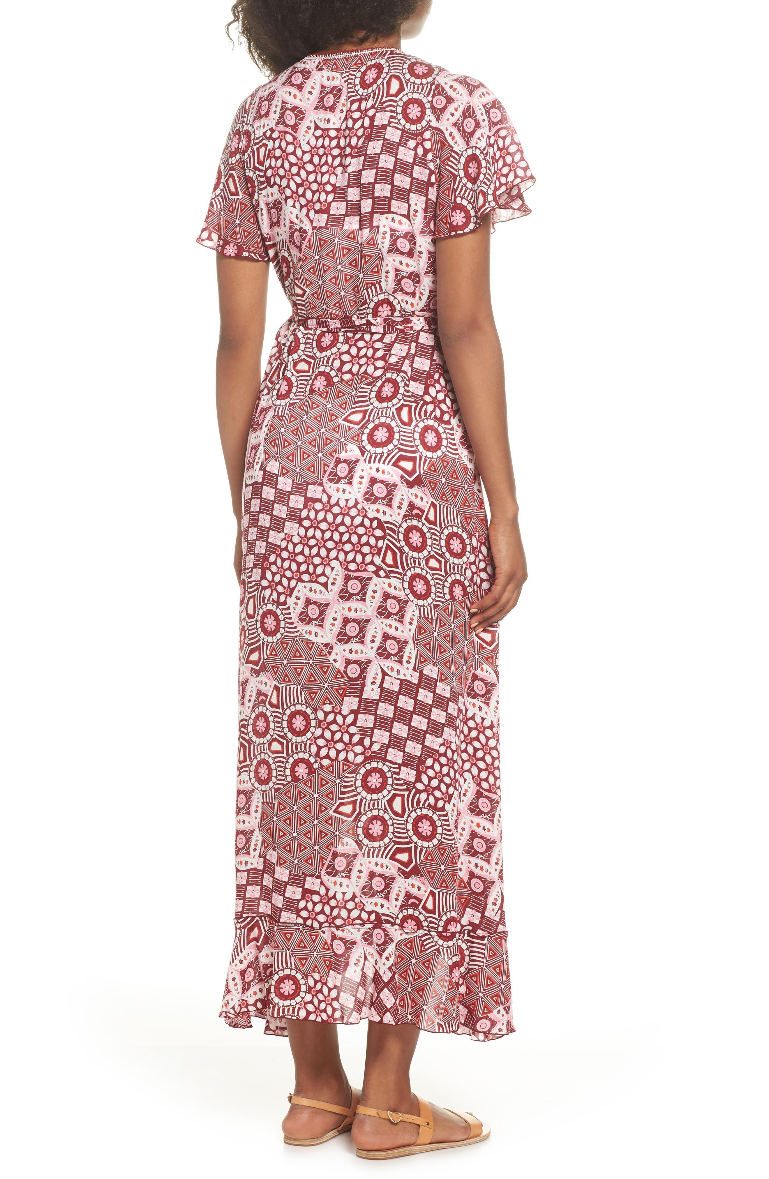Poupette St. Barth Joe Cover-Up Maxi Dress,                             Alternate thumbnail 2, color,                             Pink Mali