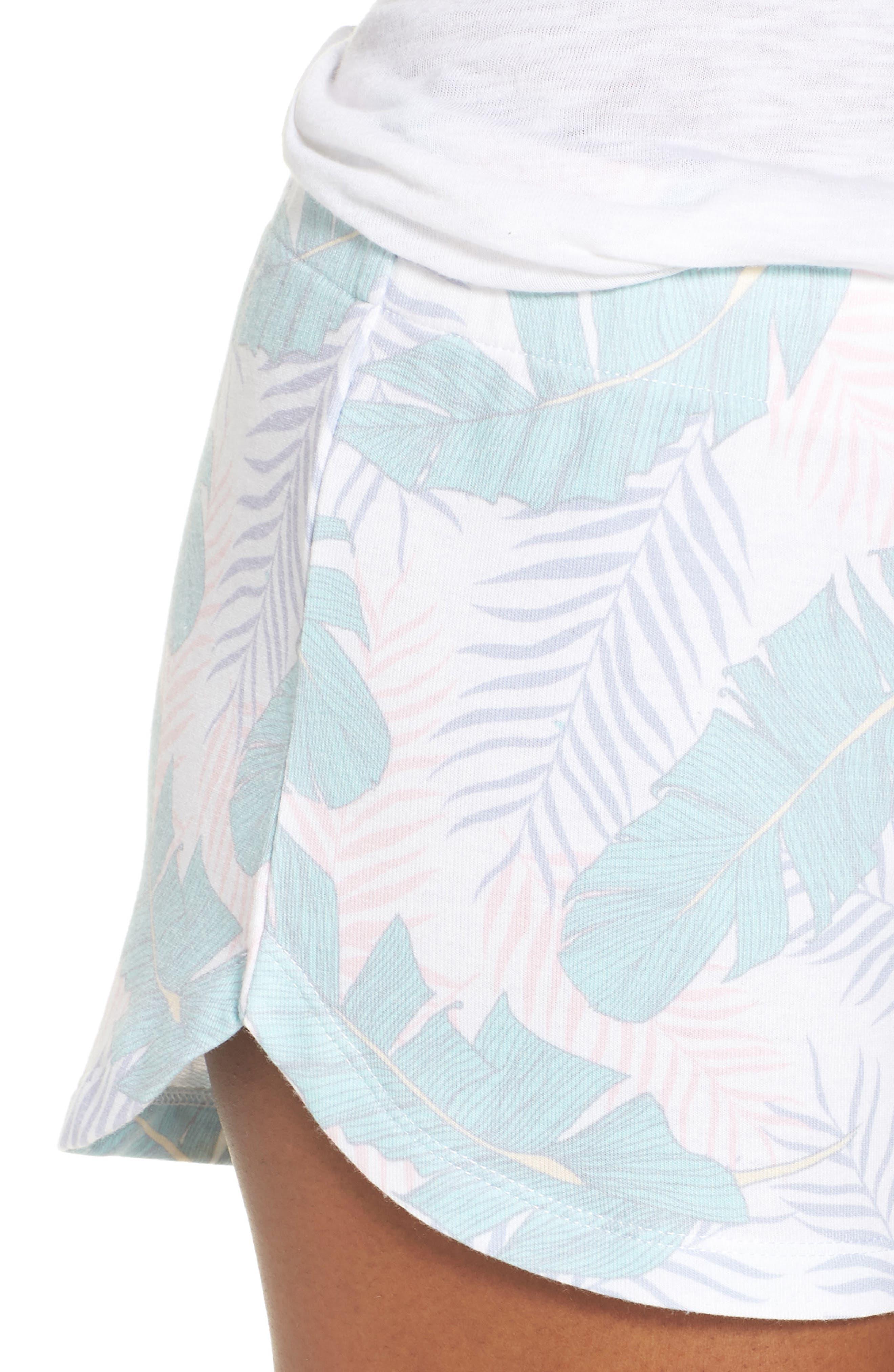 Lounge Shorts,                             Alternate thumbnail 6, color,                             White