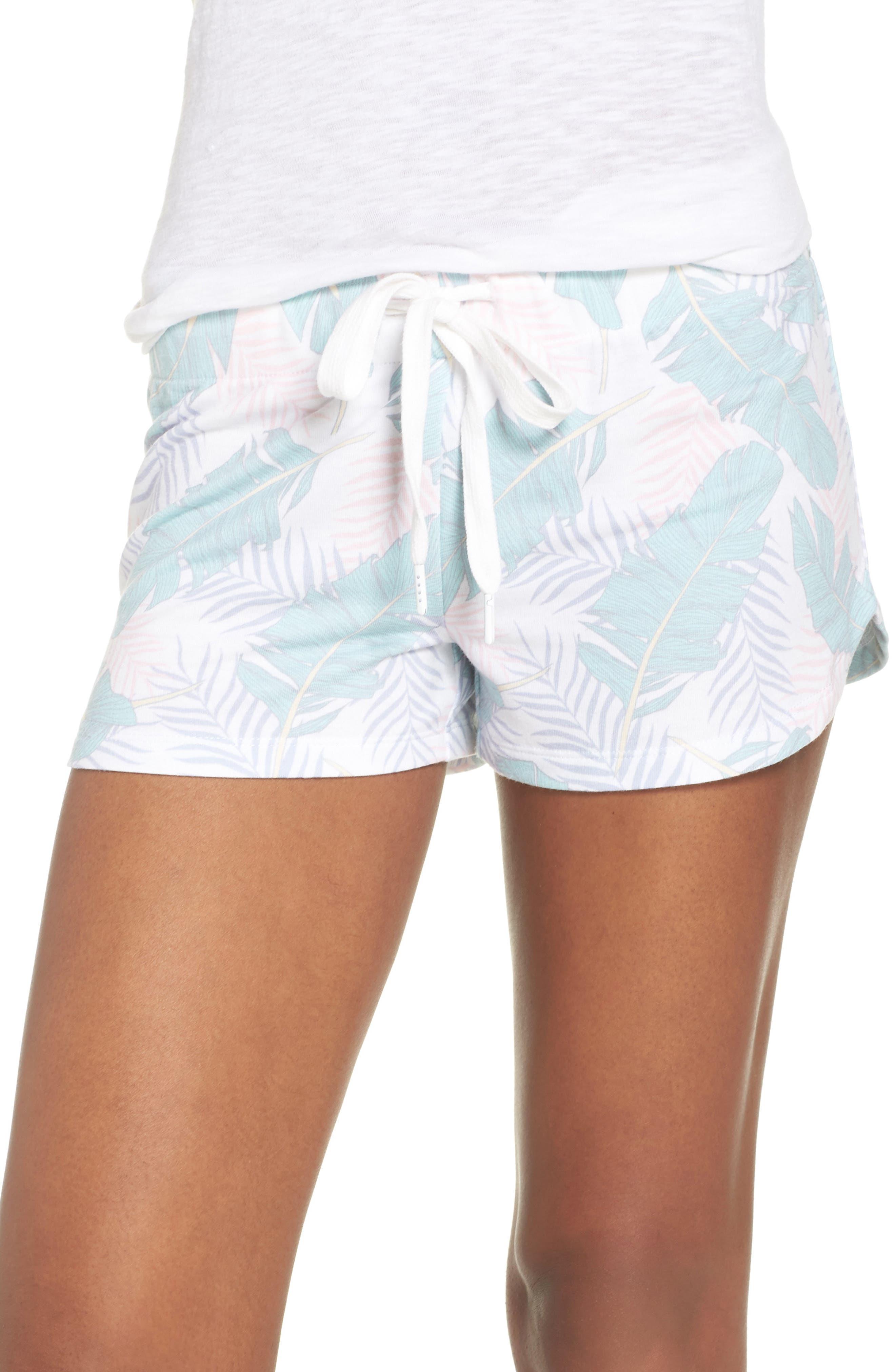 Lounge Shorts,                             Main thumbnail 1, color,                             White