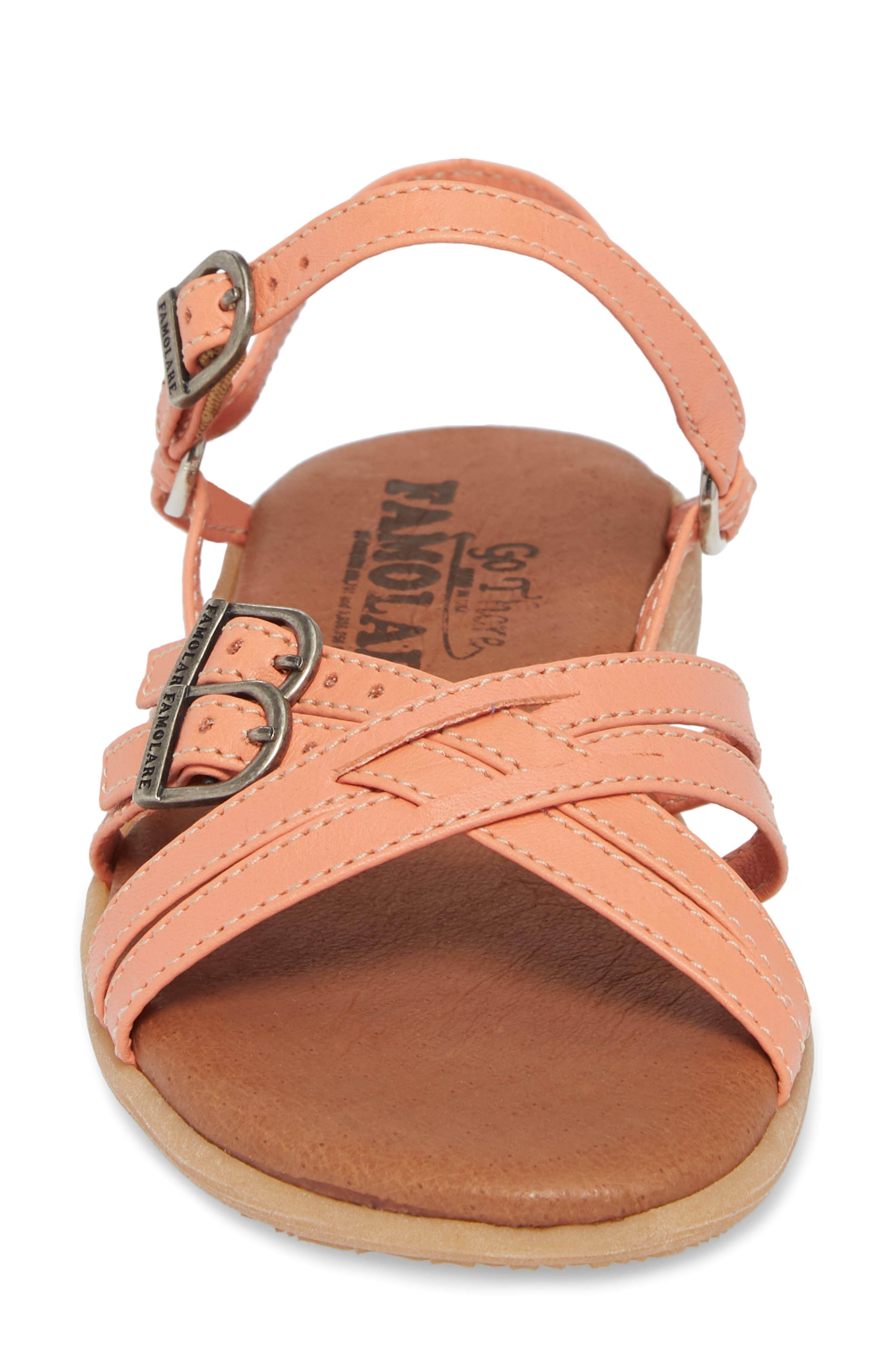 Alternate Image 4  - Famolare Strapsody Buckle Sandal (Women)