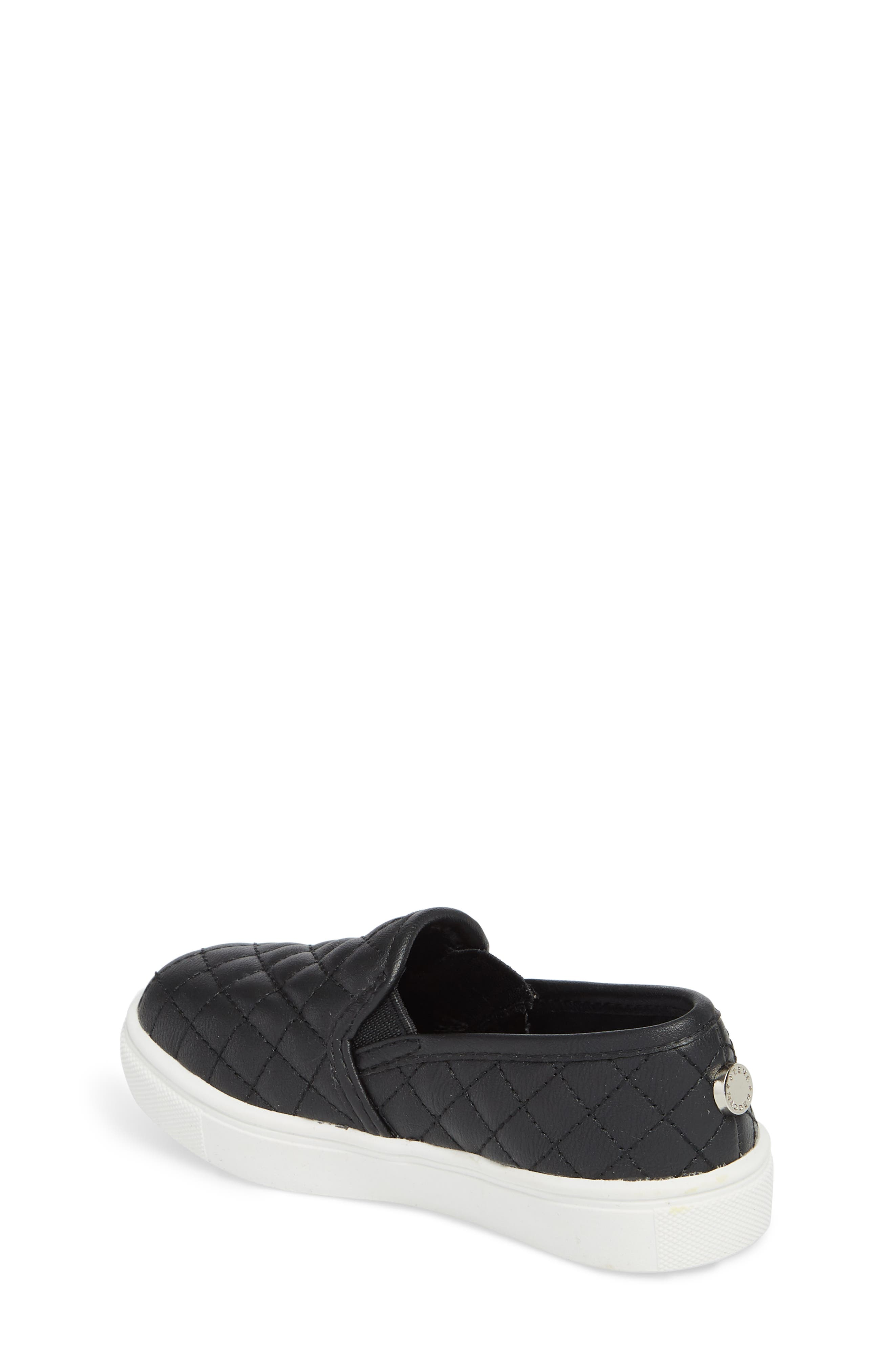 Tecntrc Quilted Slip-On Sneaker,                             Alternate thumbnail 2, color,                             Black