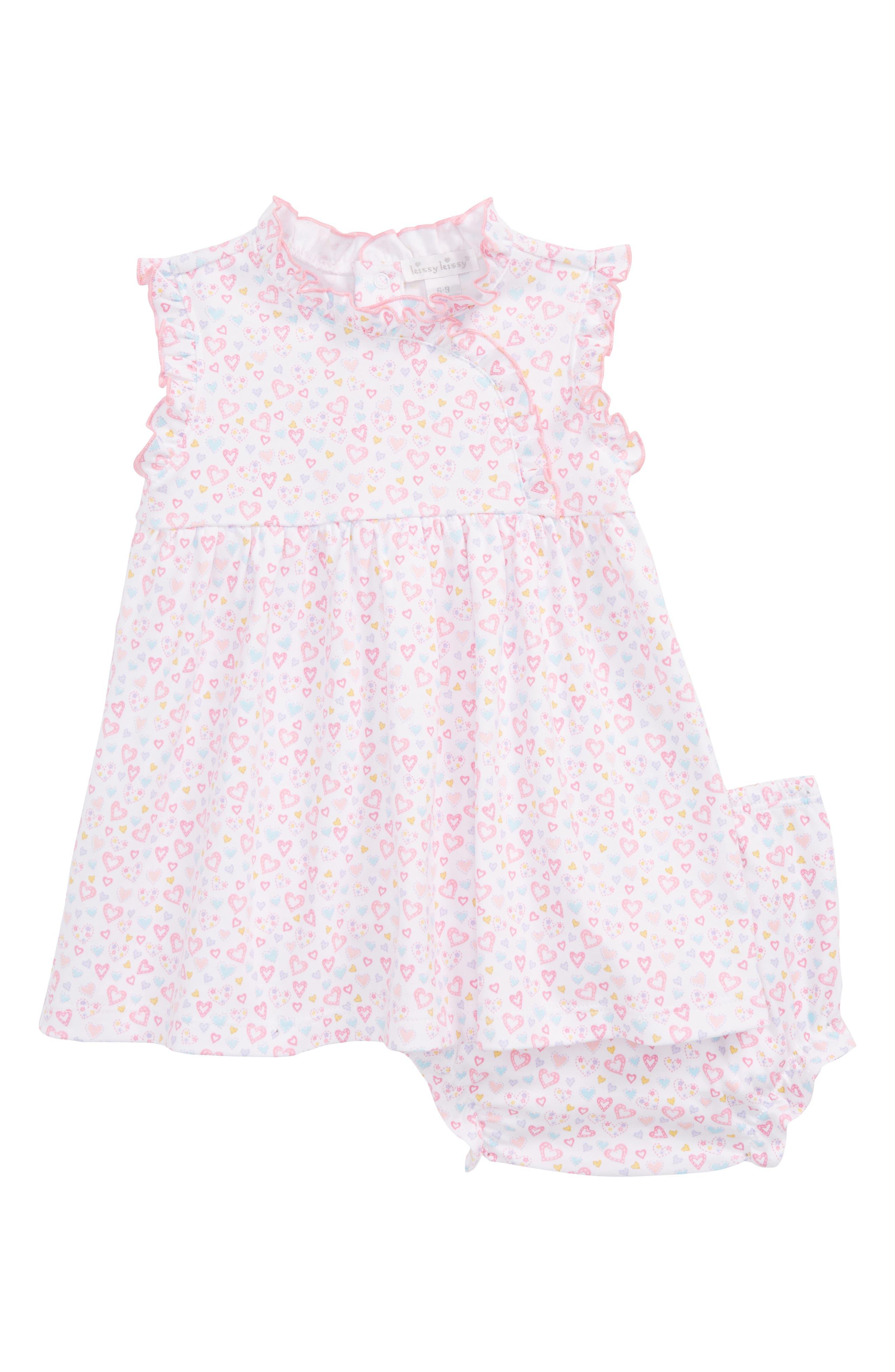 Main Image - Kissy Kissy Dina Darlings Dress (Baby Girls)