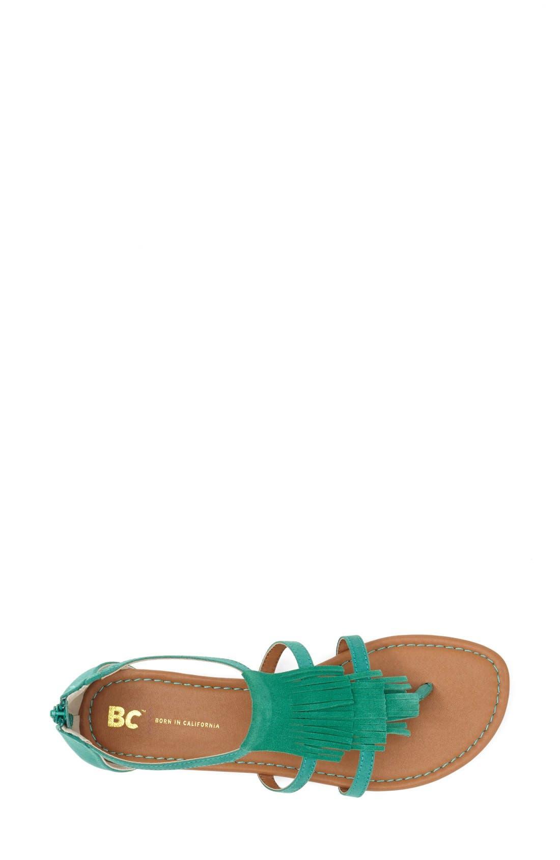 Alternate Image 3  - BC Footwear 'Maltese' Fringe Sandal (Women)