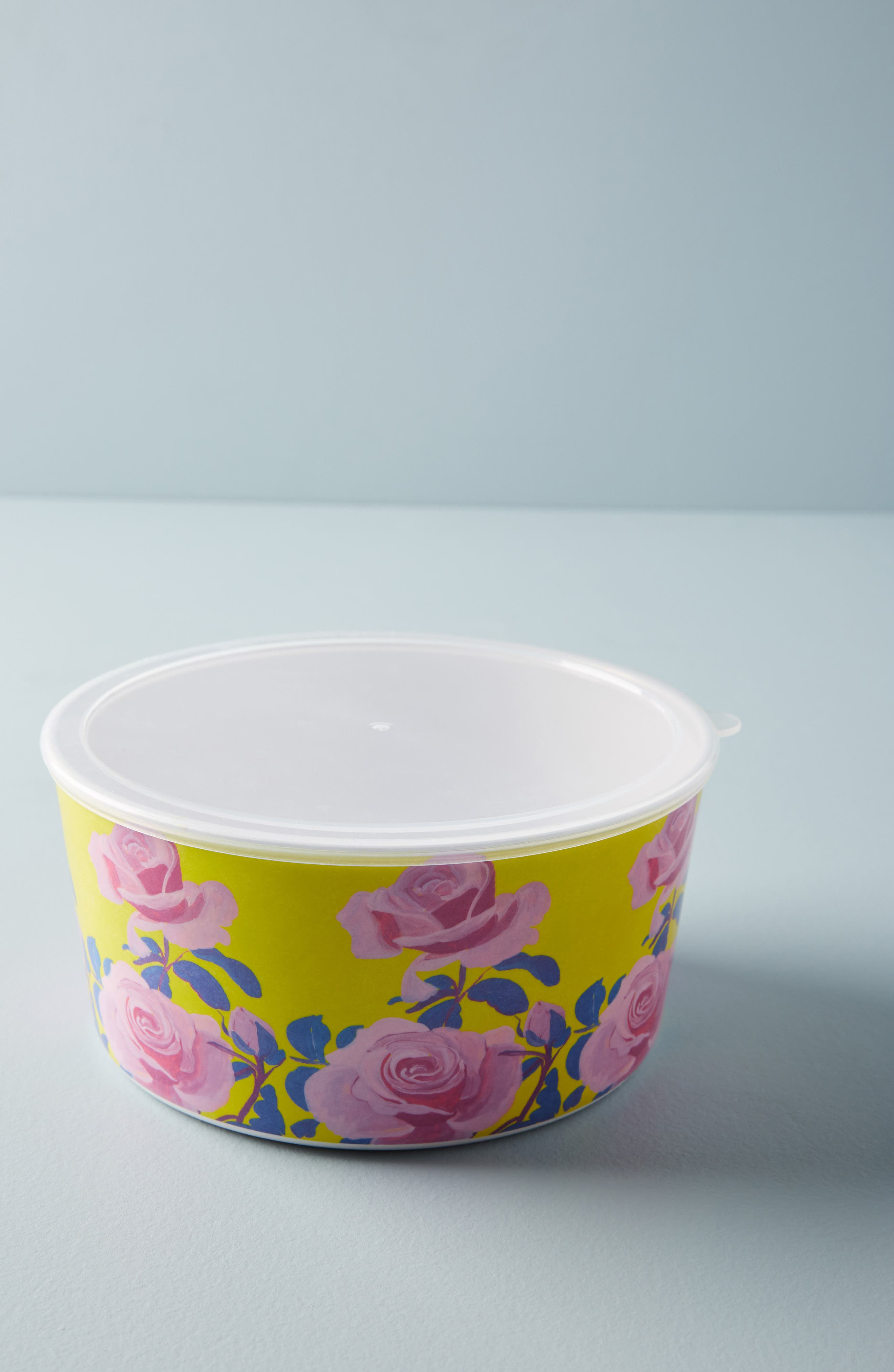 Anthropologie Paint + Petals Melamine Storage Bowl