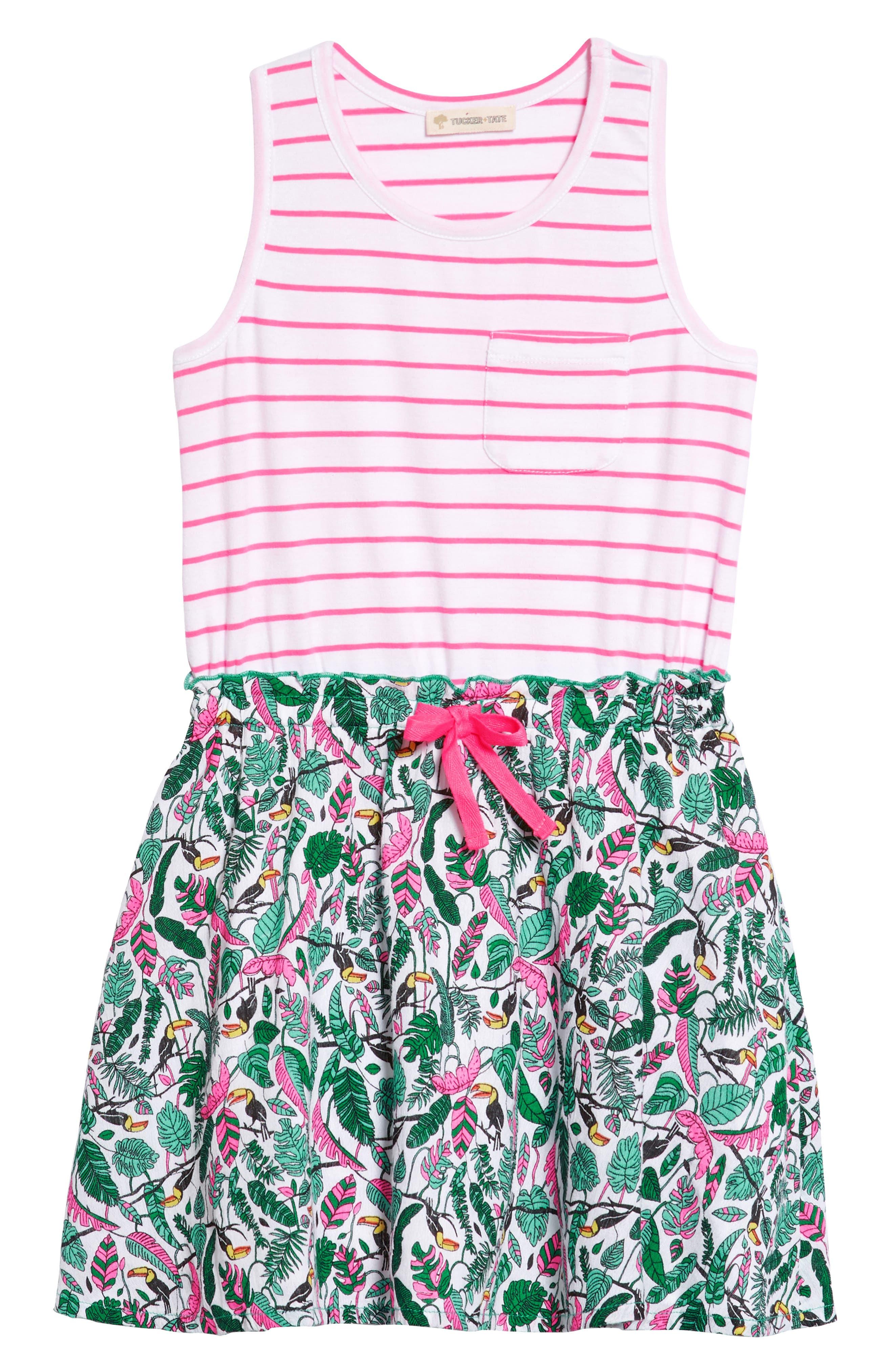 Tucker + Tate Tank Dress (Toddler Girls, Little Girls & Big Girls)