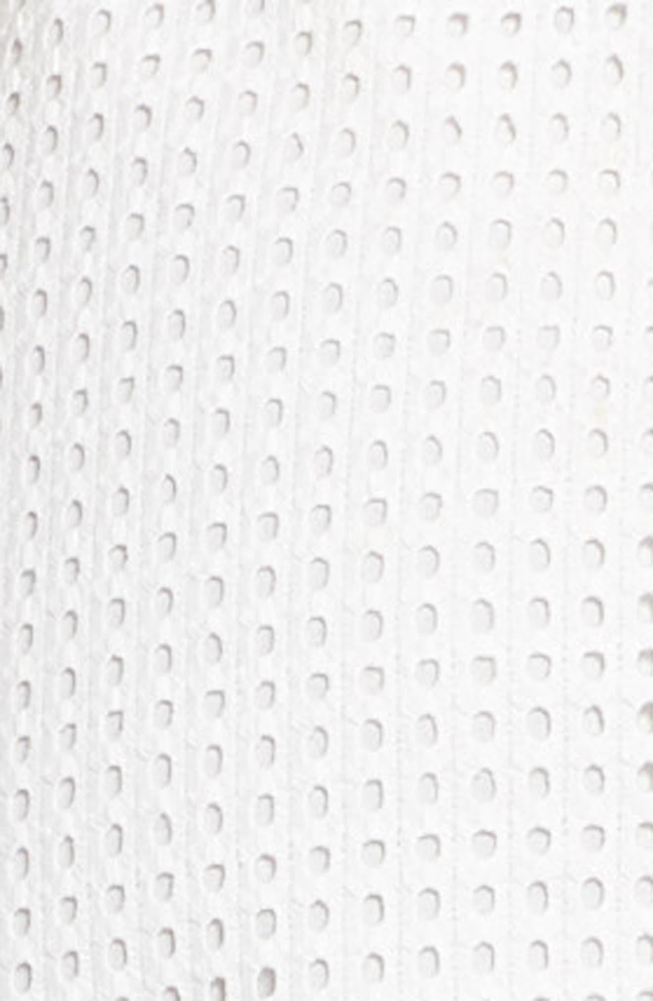 Asymmetrical Hem Dress,                             Alternate thumbnail 6, color,                             White