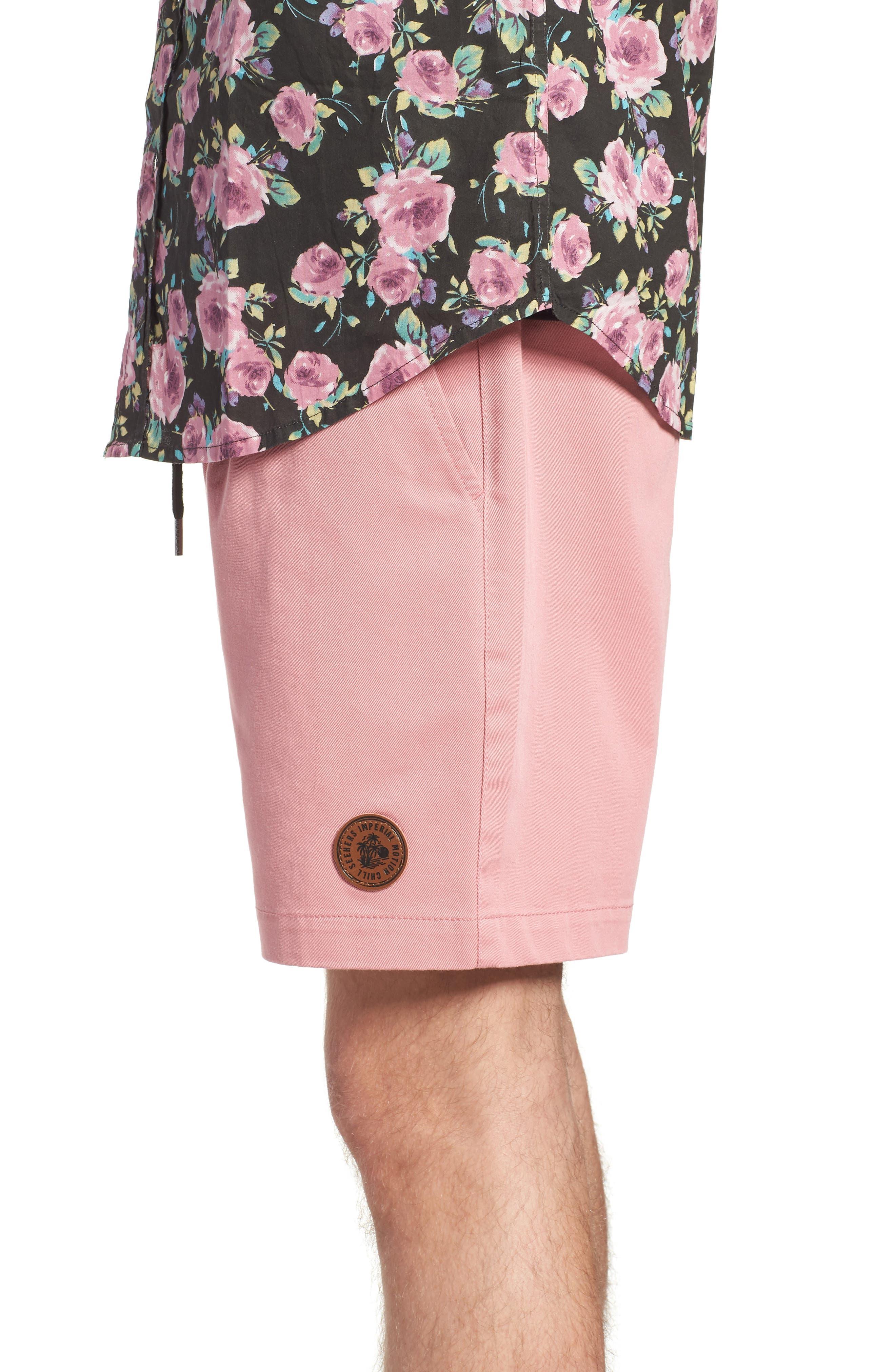 Seeker Shorts,                             Alternate thumbnail 3, color,                             Light Pink