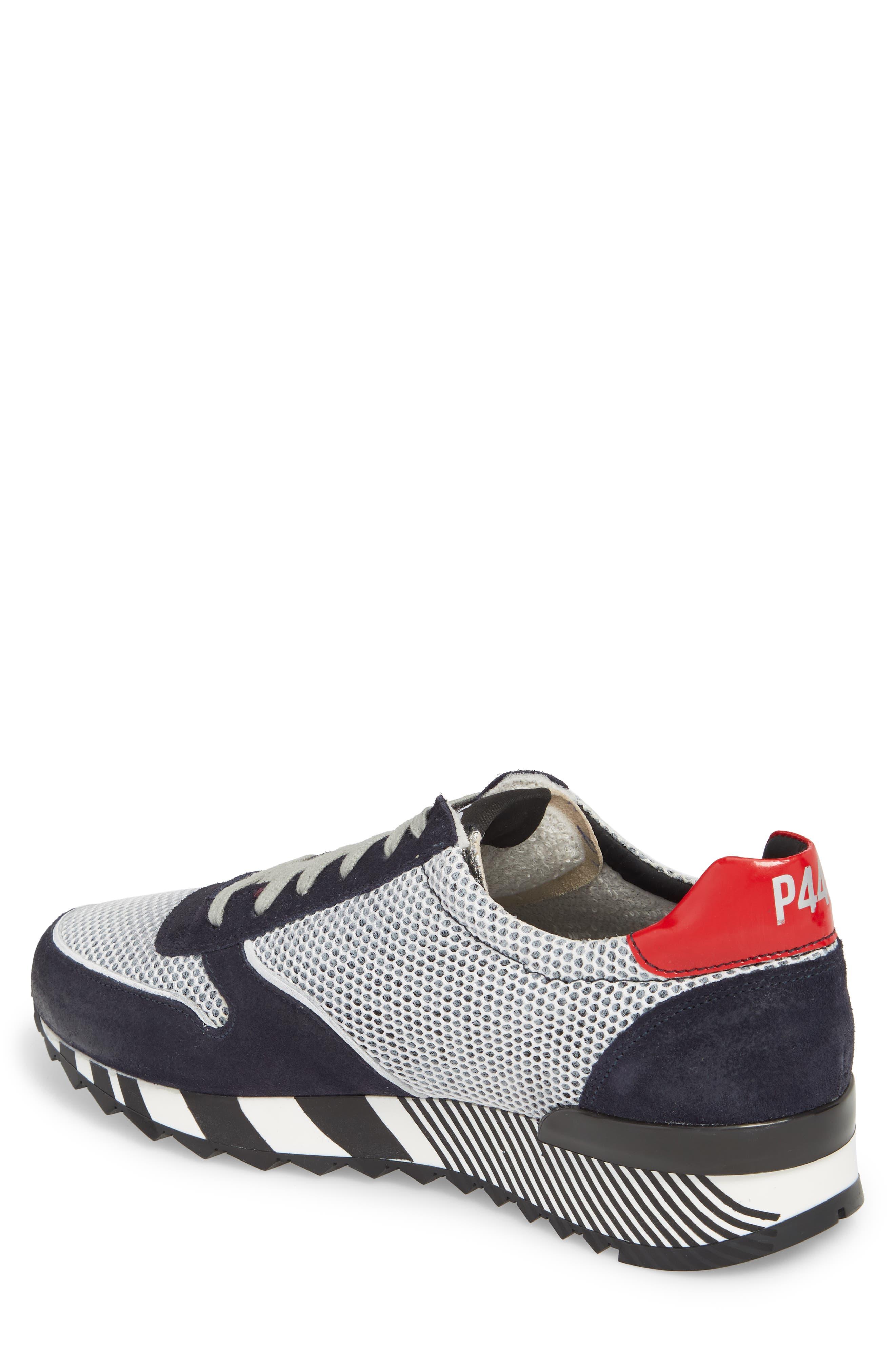 Boston Low Top Sneaker,                             Alternate thumbnail 2, color,                             Sand Grey
