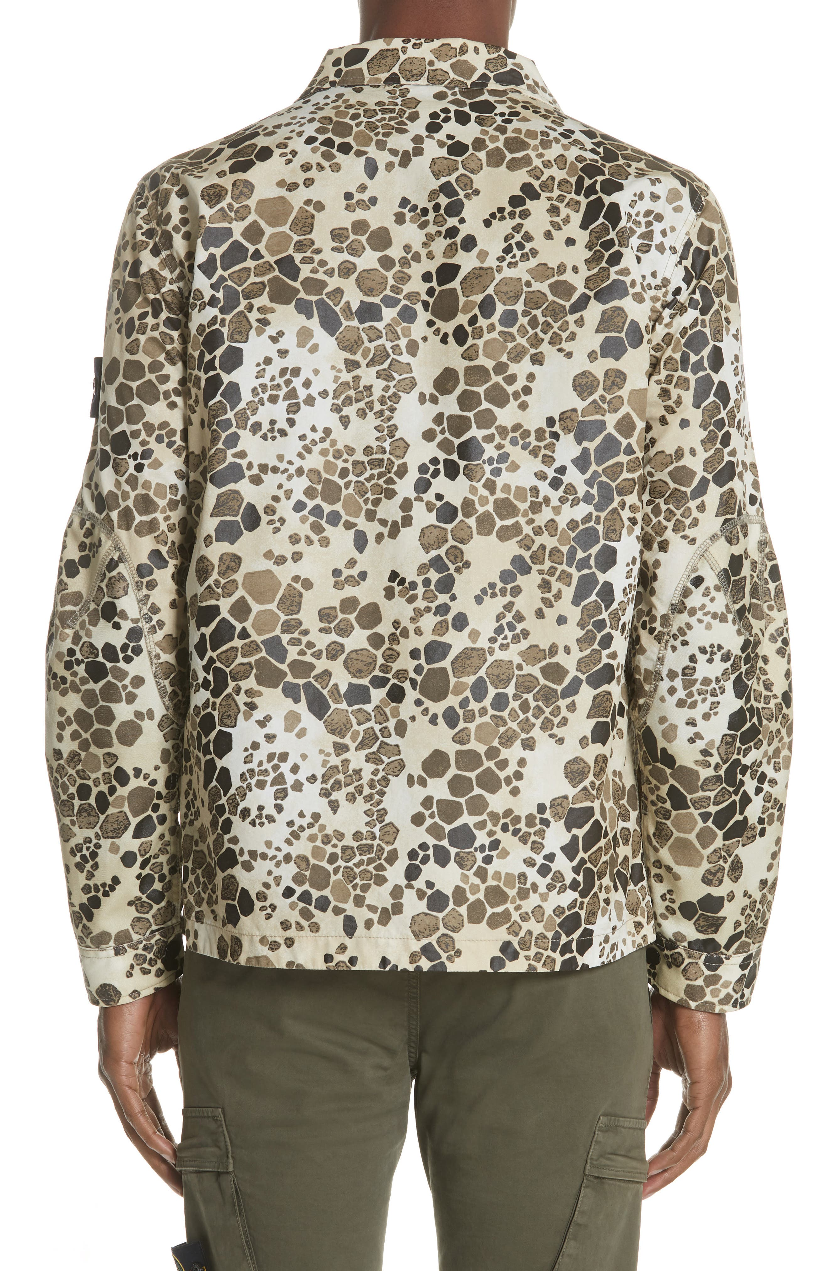 Camo Military Field Jacket,                             Alternate thumbnail 2, color,                             Brown