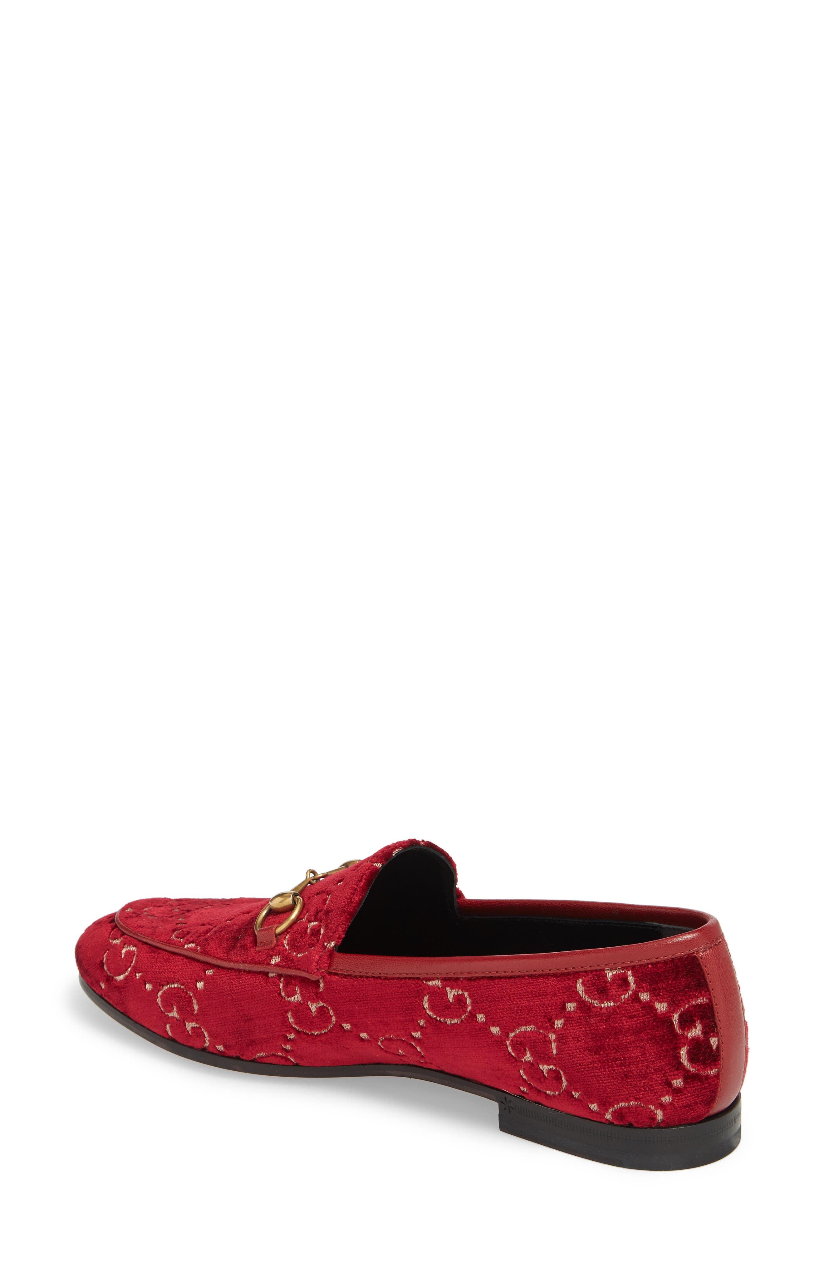 Jordaan Loafer,                             Alternate thumbnail 2, color,                             Red