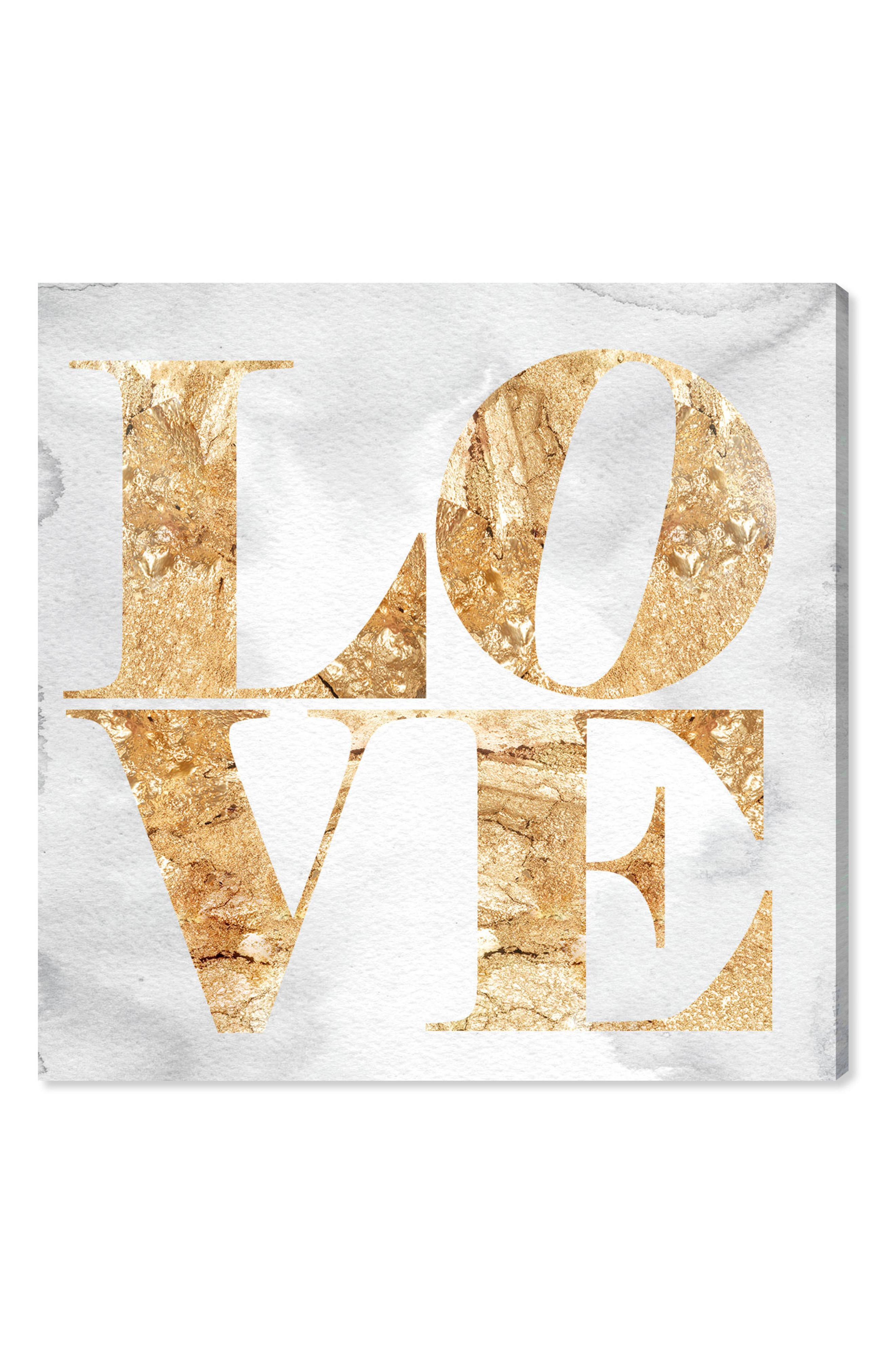 Alternate Image 1 Selected - Oliver Gal Love Canvas Wall Art