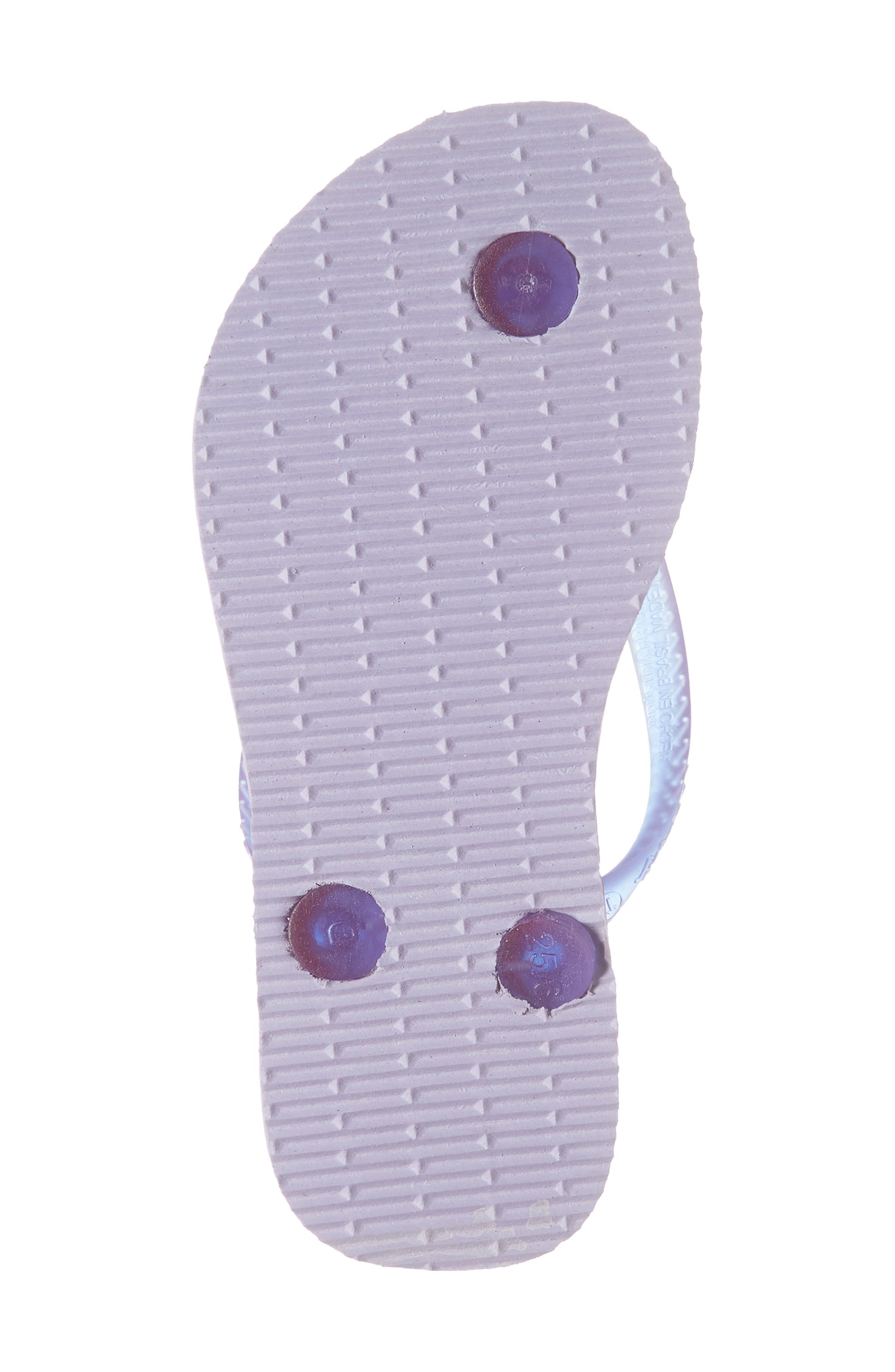 Havianas Slim Summer Flip Flop,                             Alternate thumbnail 6, color,                             Lavender