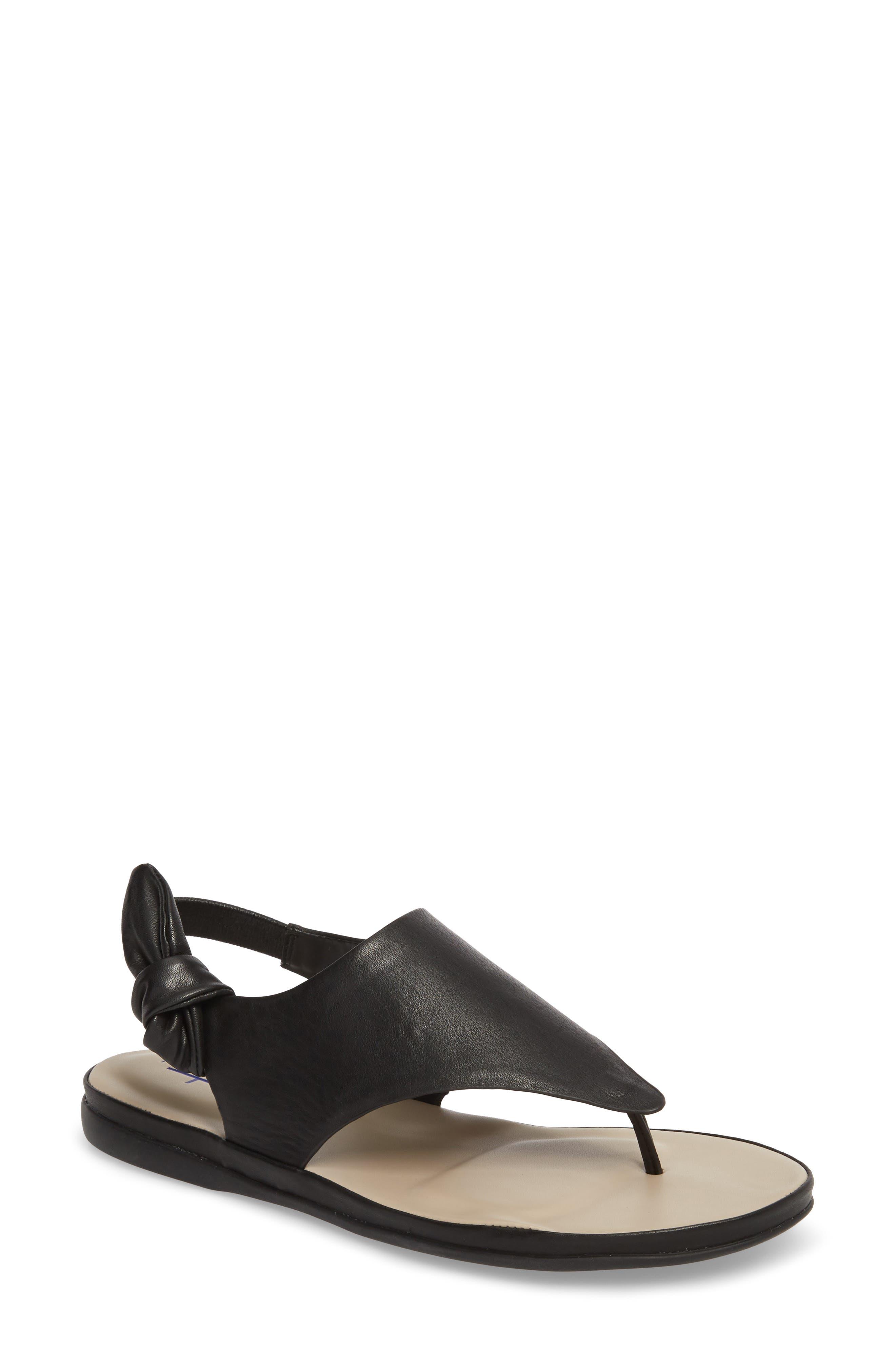 Aleena Sandal,                         Main,                         color, Black Leather