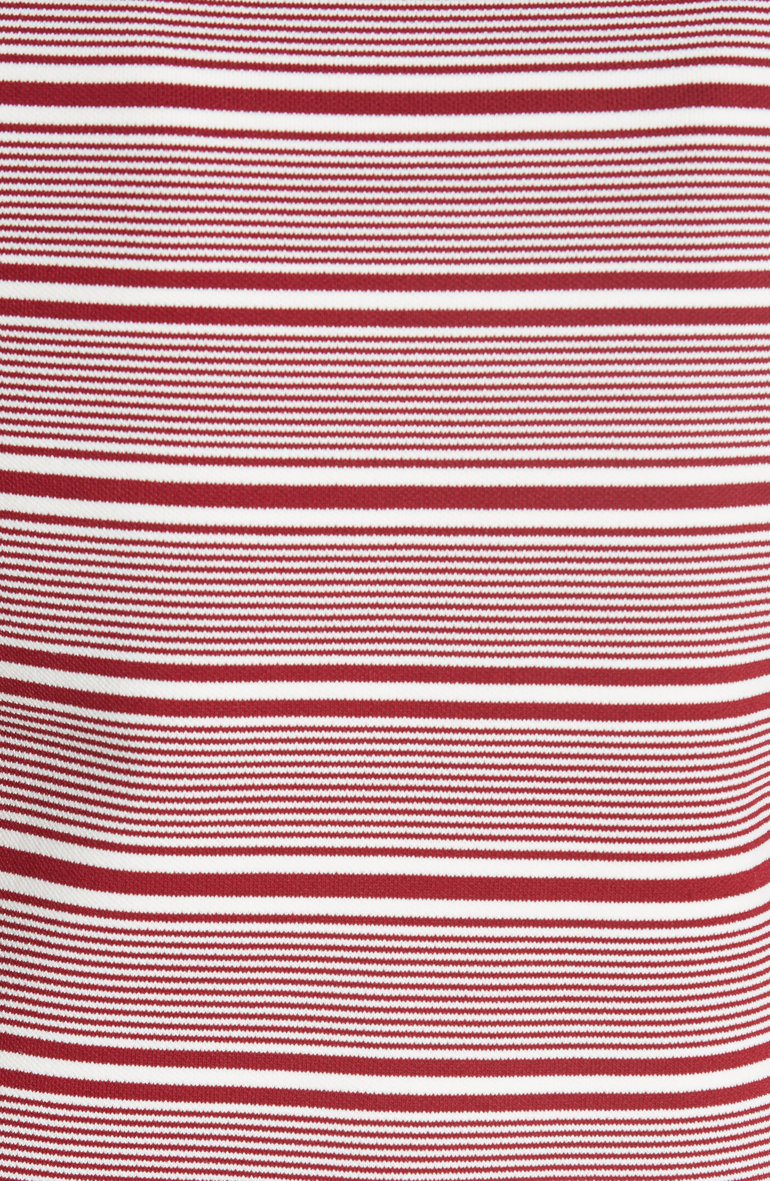 Marco Stripe Sweater,                             Alternate thumbnail 5, color,                             Rayure