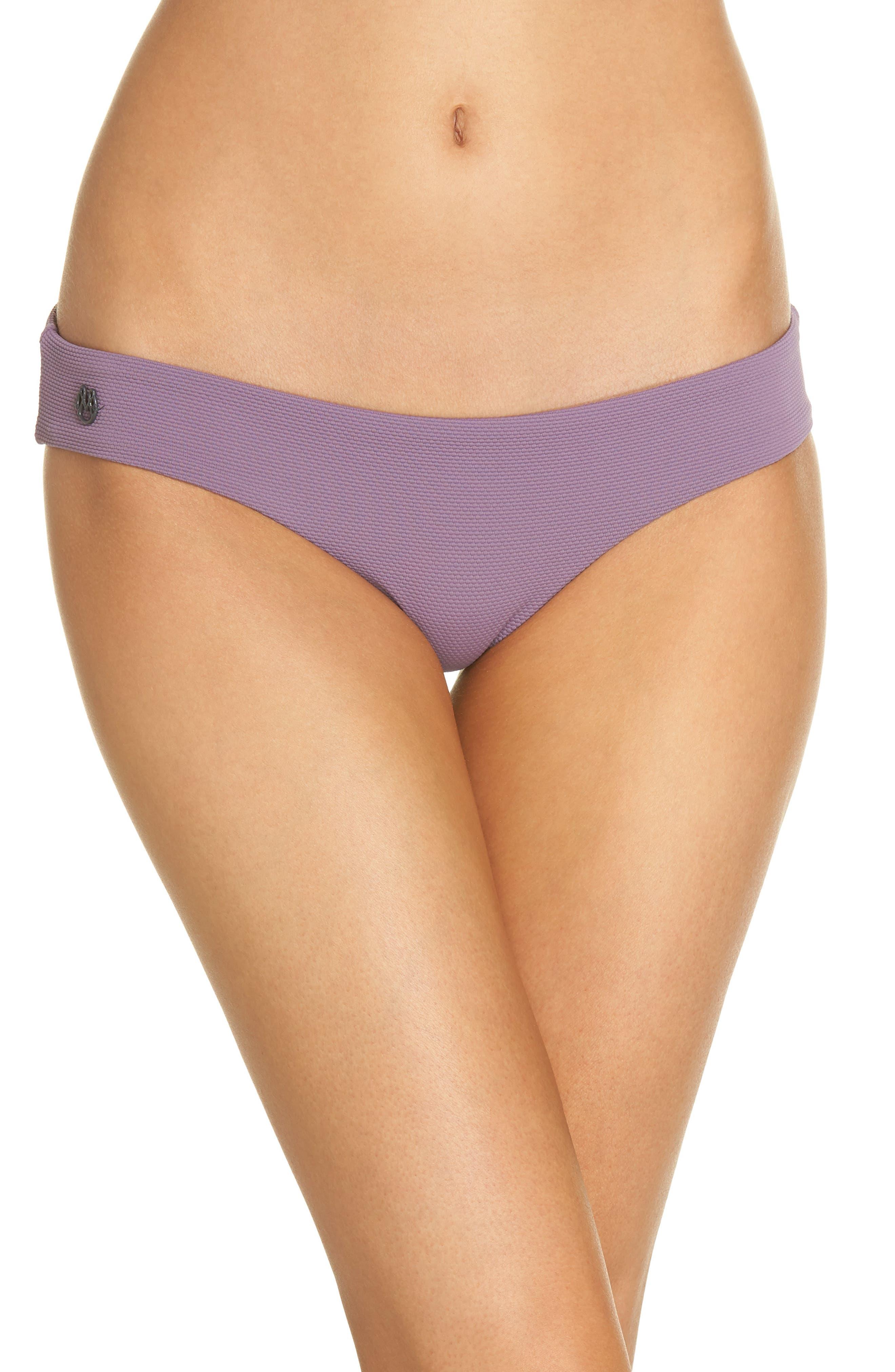 Maaji Purple Sage Sublime Signature Reversible Bikini Bottoms