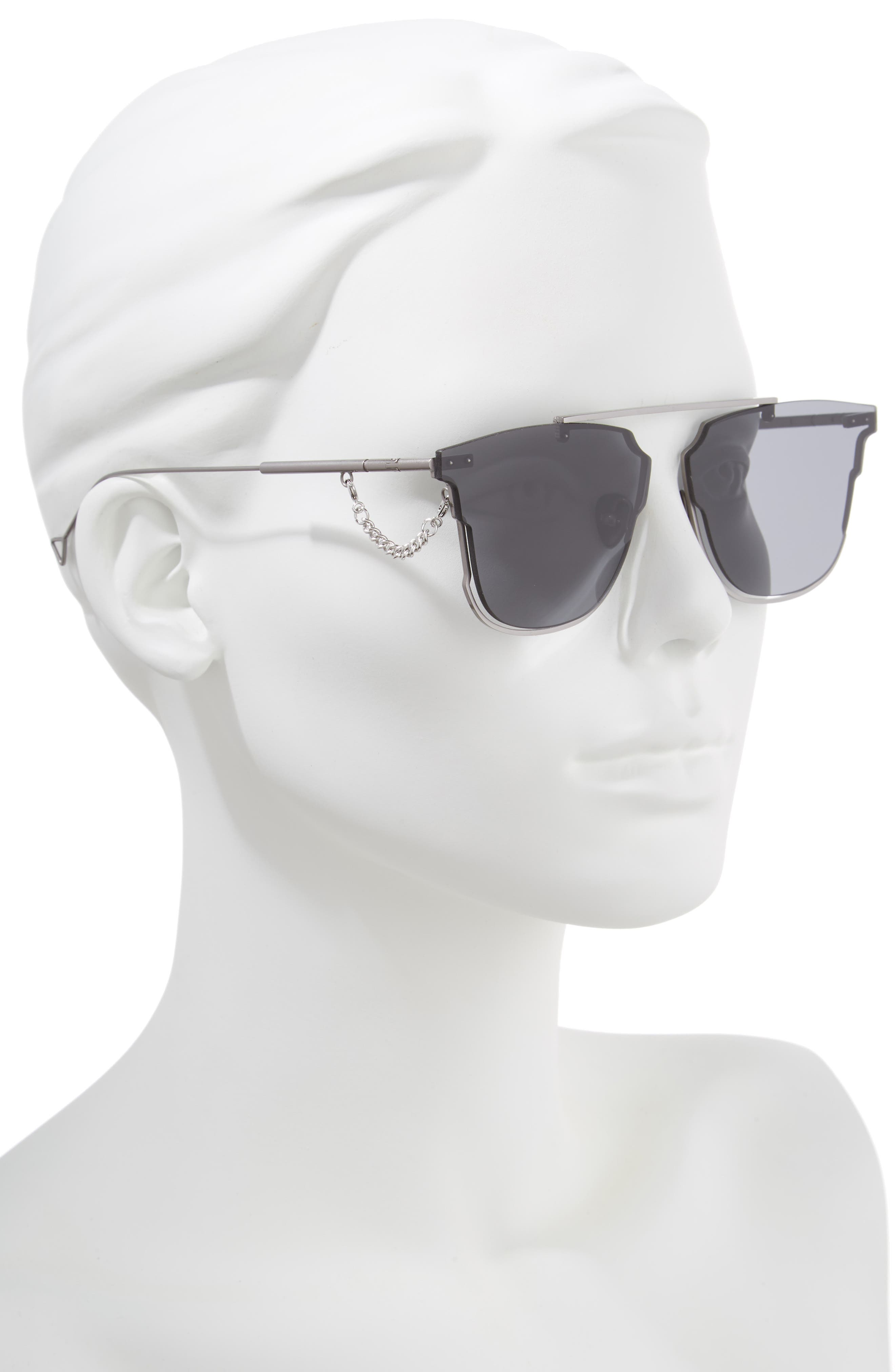 Hove 65mm Sunglasses,                             Alternate thumbnail 2, color,                             Smoke